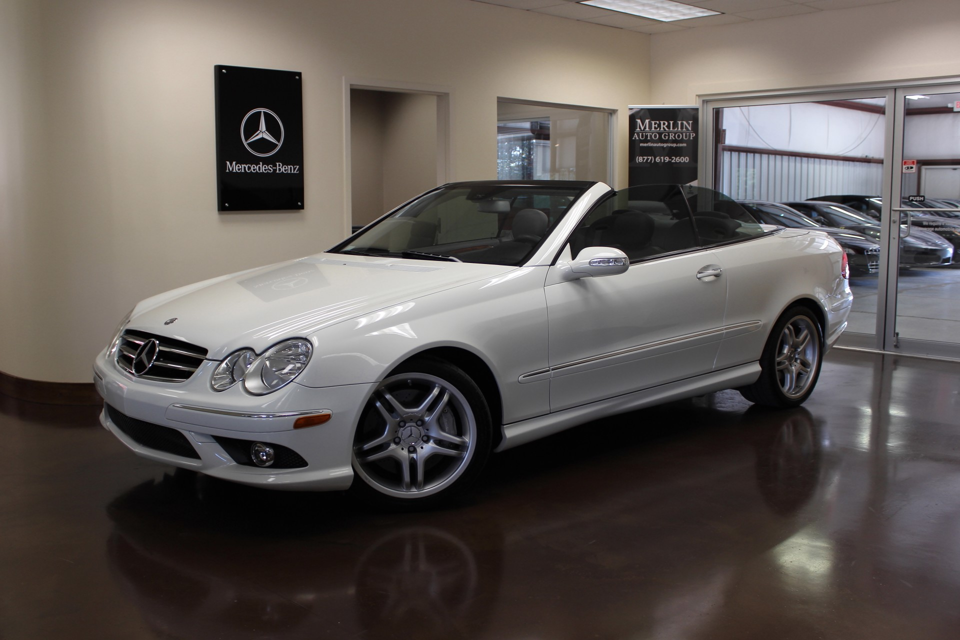 Used 2008 mercedes benz clk class stock p2933 ultra for 2008 mercedes benz clk class