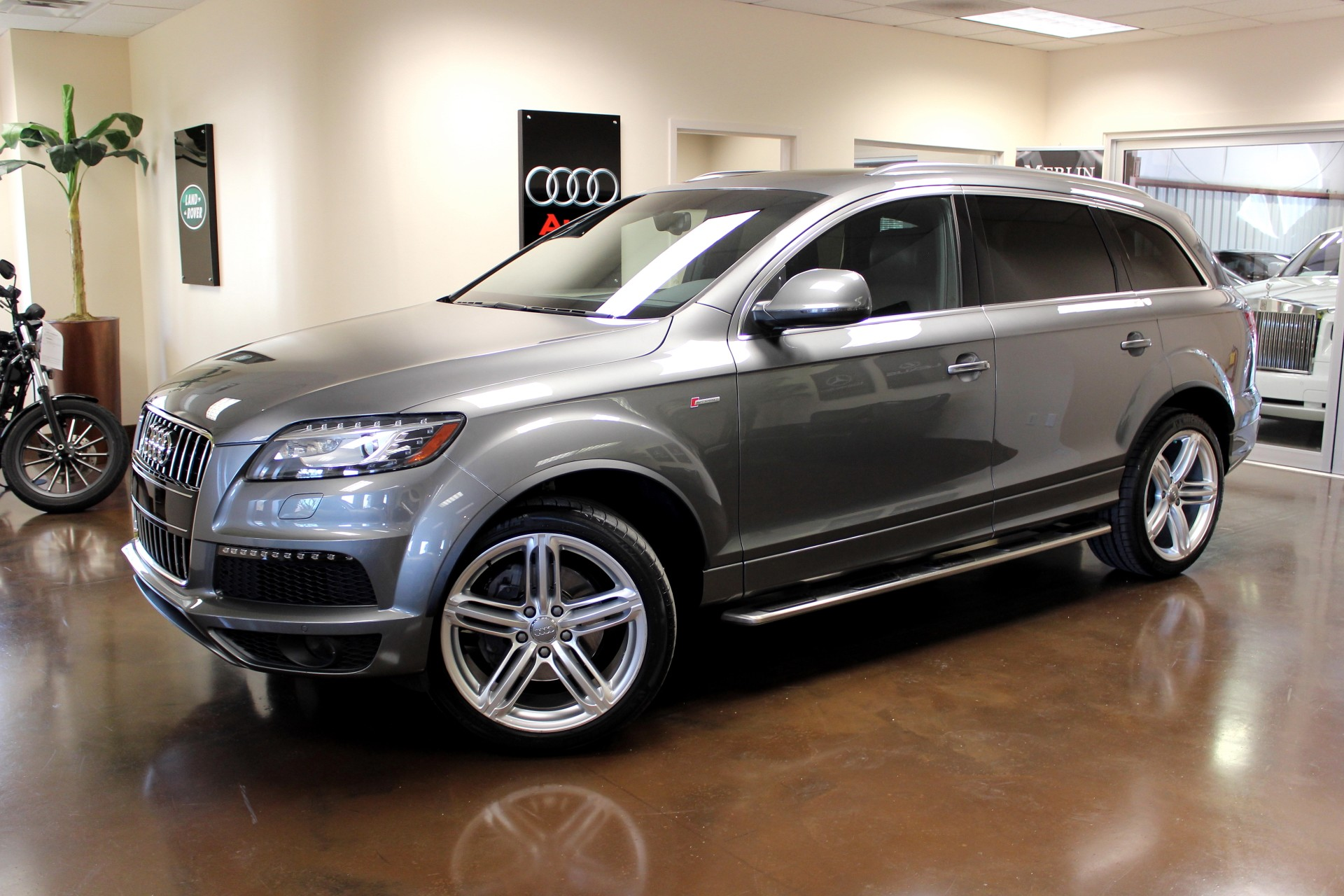 Used 2013 Audi Q7 stock P2884A - Ultra Luxury Car from Merlin Auto Group