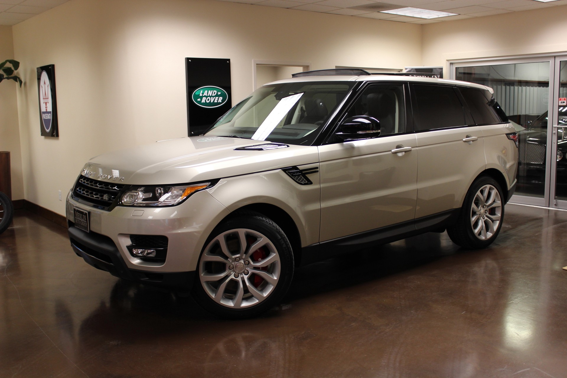 used 2014 land rover range rover sport stock p2985 ultra. Black Bedroom Furniture Sets. Home Design Ideas