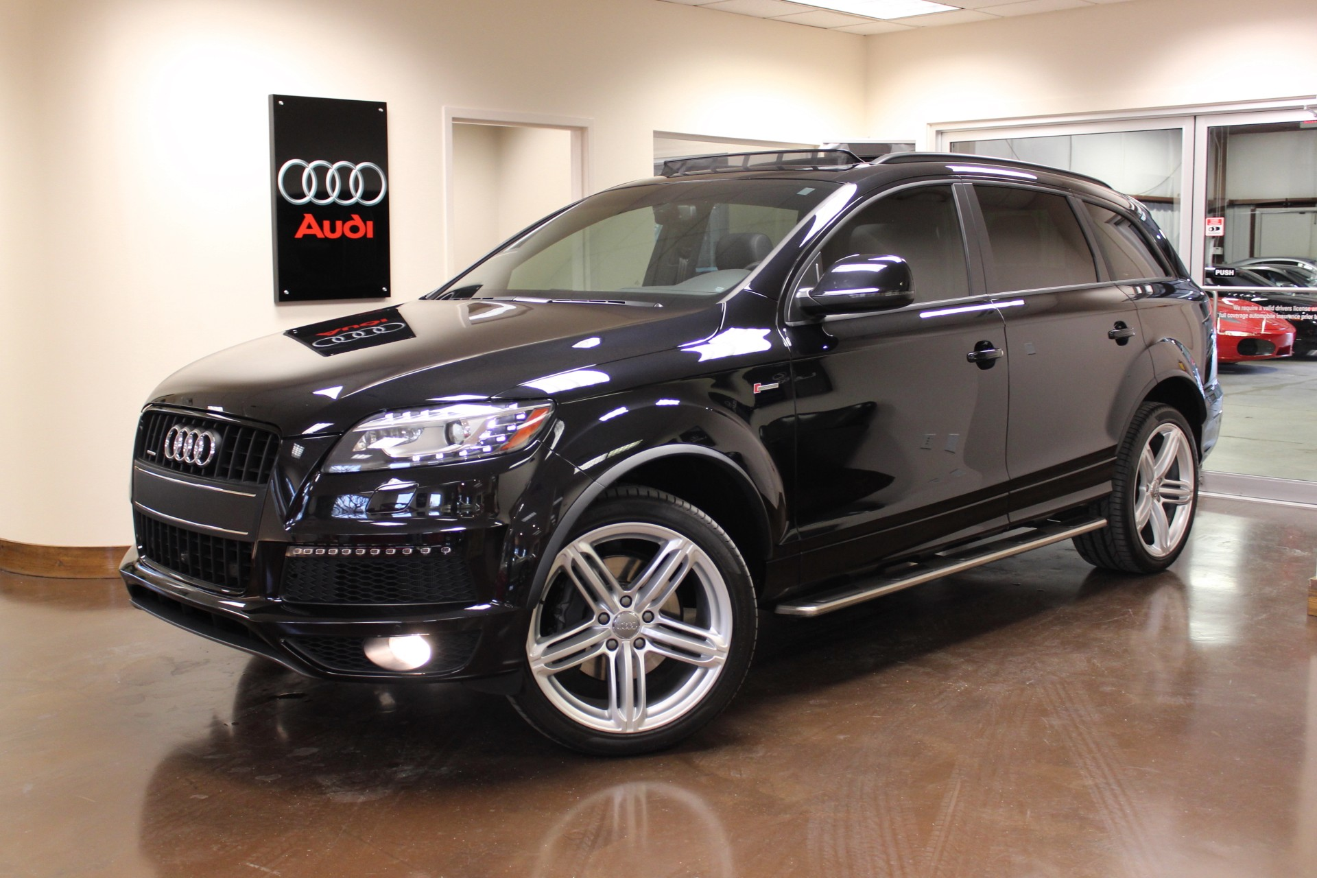 used 2014 audi q7 stock p2975a ultra luxury car from merlin auto group. Black Bedroom Furniture Sets. Home Design Ideas