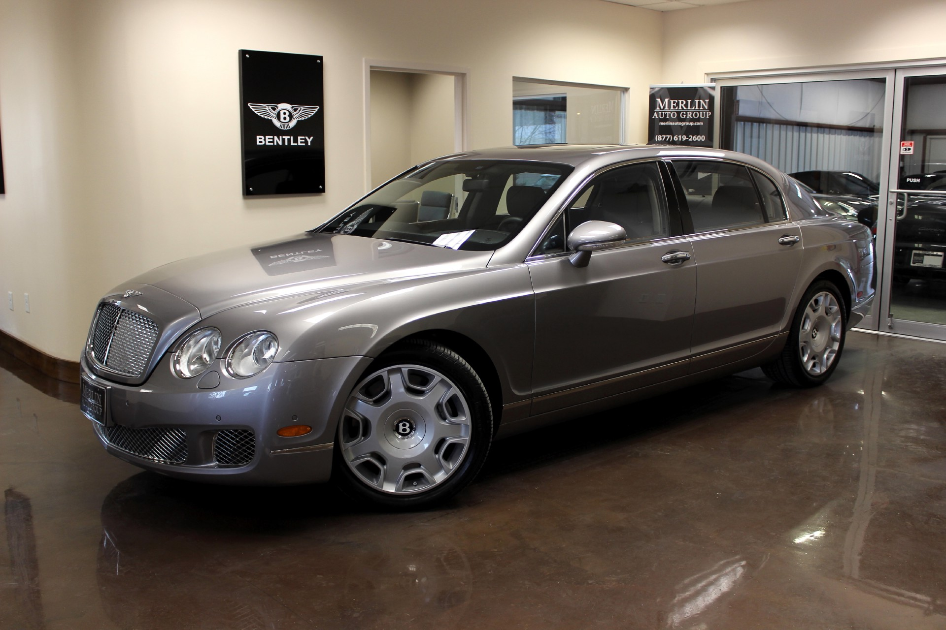 used 2009 bentley continental flying spur stock p2739 ultra luxury car from merlin auto group. Black Bedroom Furniture Sets. Home Design Ideas