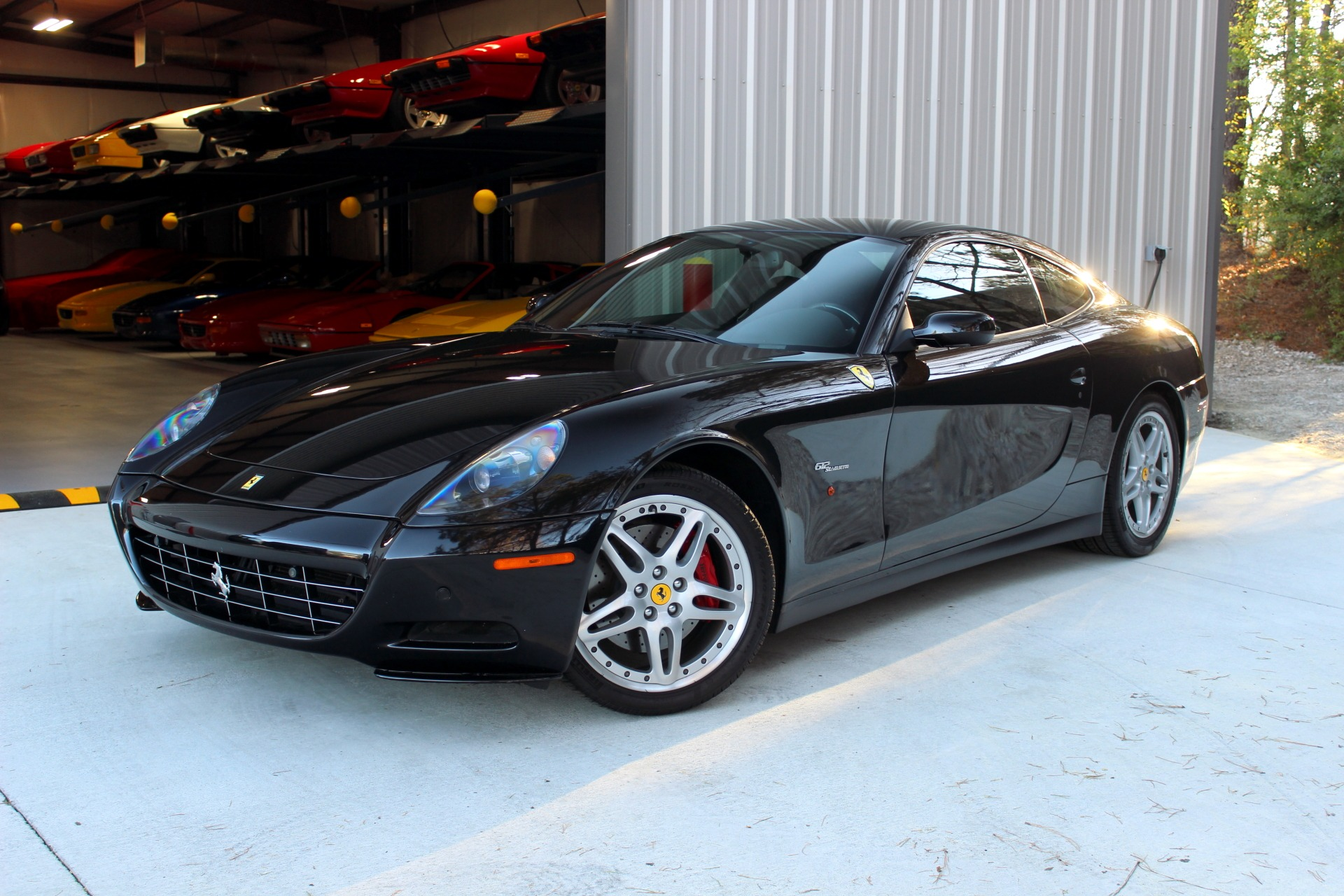 used 2006 ferrari 612 scaglietti nero daytona coupe v12 5. Black Bedroom Furniture Sets. Home Design Ideas