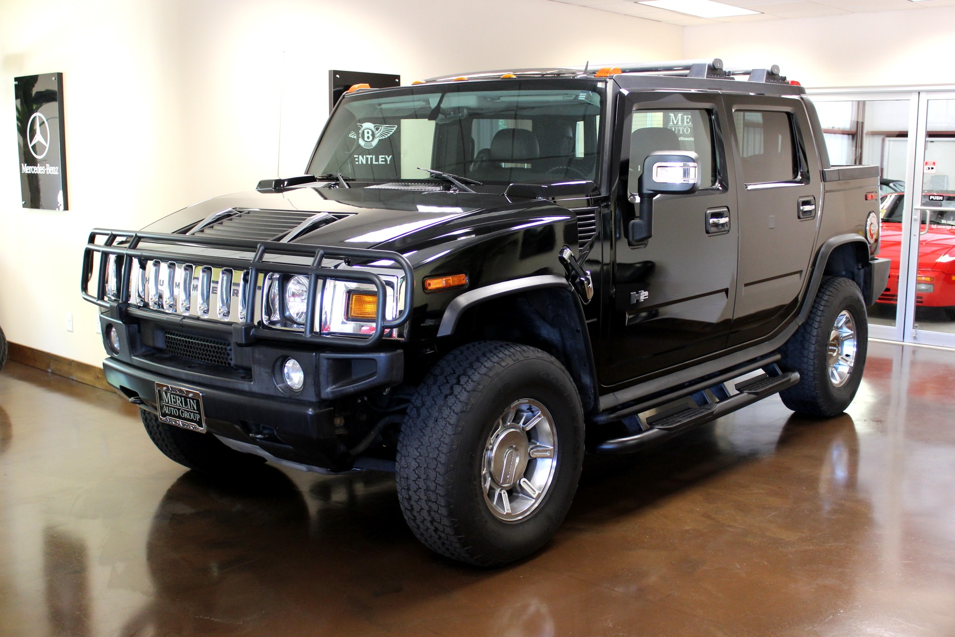 used 2007 hummer h2 sut stock p3071 ultra luxury car from merlin auto group. Black Bedroom Furniture Sets. Home Design Ideas