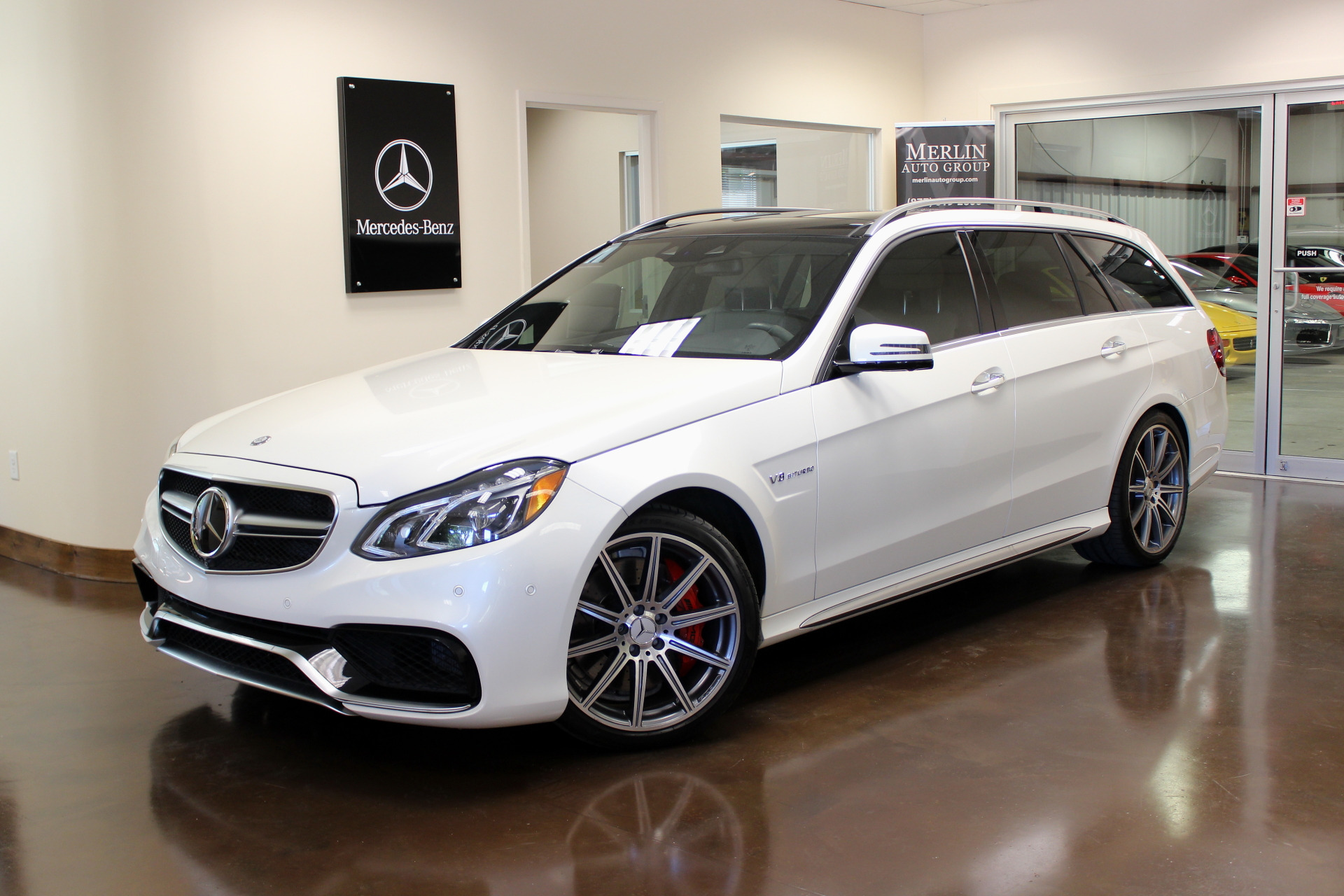 Used 2014 mercedes benz e class stock p3089 ultra luxury for 2014 mercedes benz e class e63 amg s model