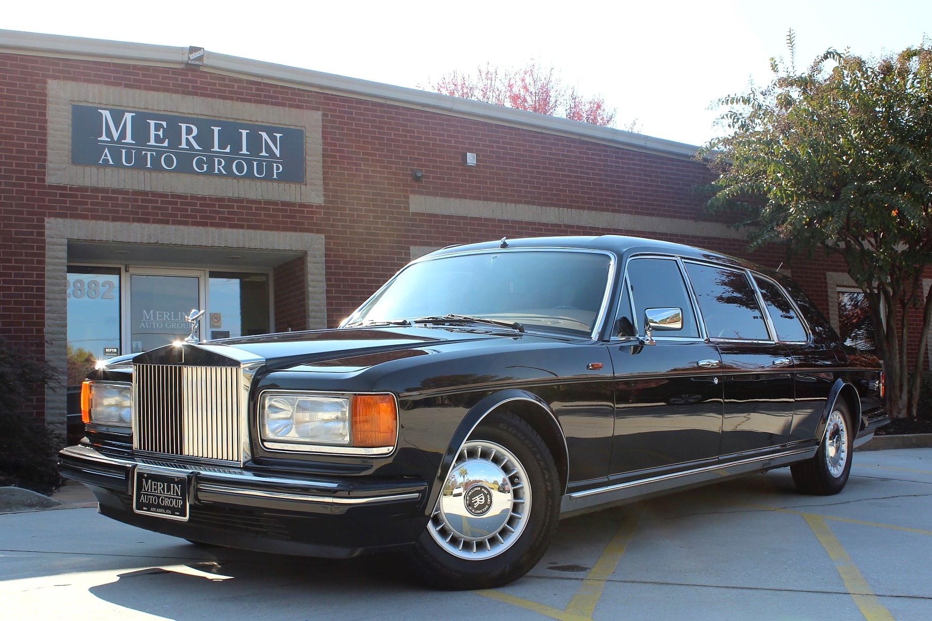 1993 rolls royce silver spur ii touring limousine mulliner park ward