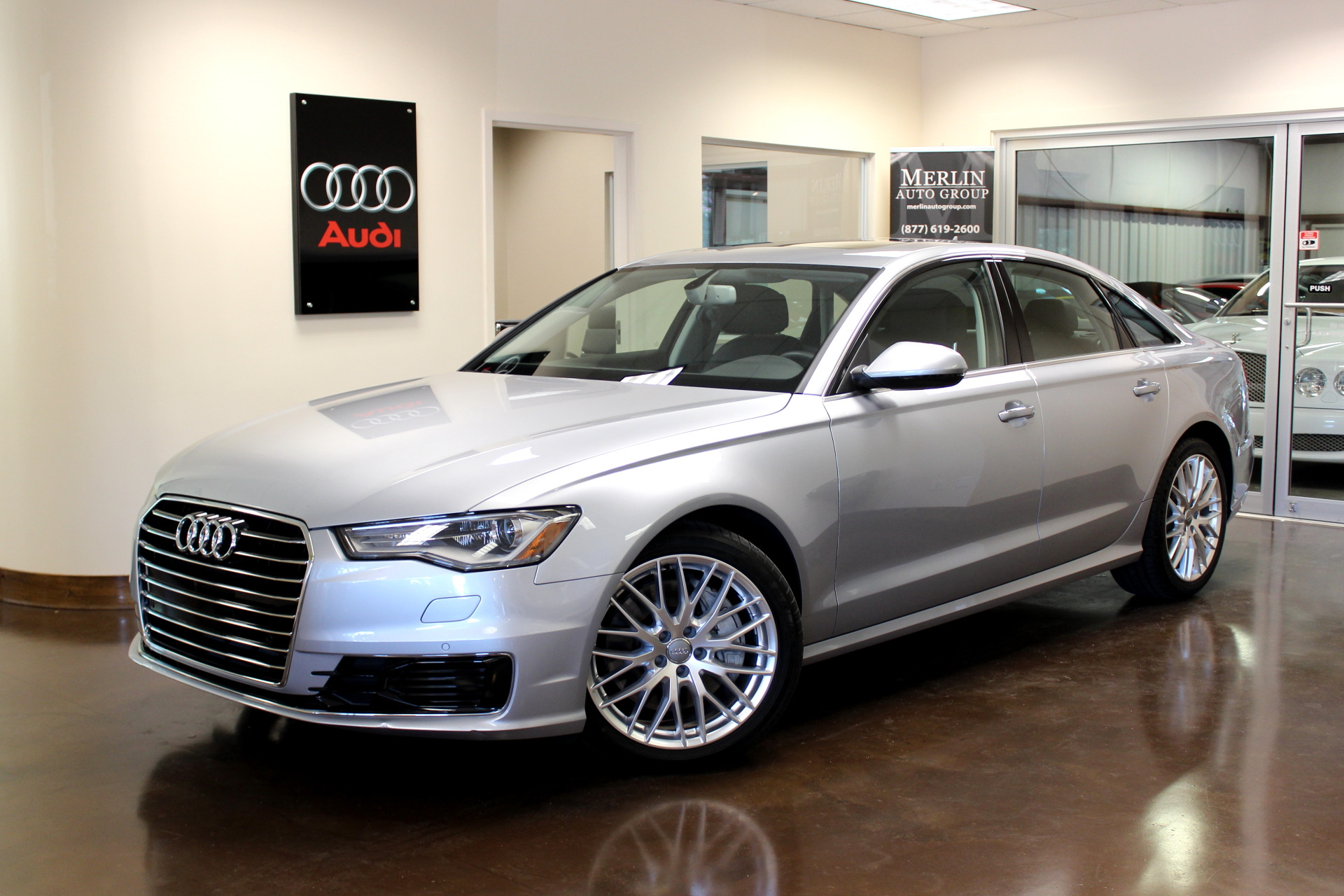 used 2016 audi a6 stock p3101 ultra luxury car from merlin auto group. Black Bedroom Furniture Sets. Home Design Ideas