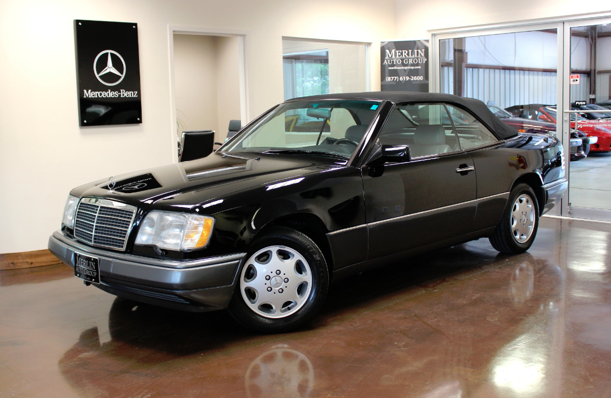 Used 1994 mercedes benz e320 stock p2781 ultra luxury for Mercedes benz e320 engine
