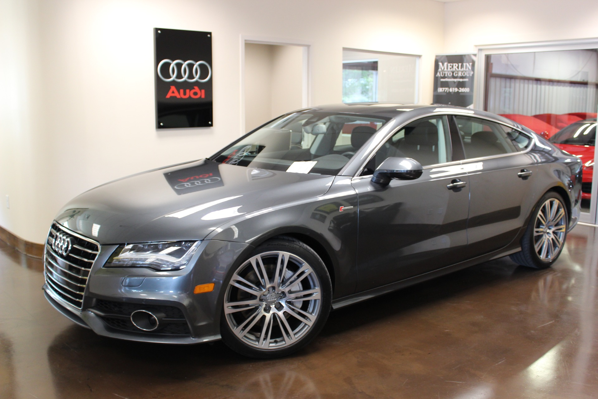 used 2014 audi a7 stock p3161 ultra luxury car from merlin auto group. Black Bedroom Furniture Sets. Home Design Ideas