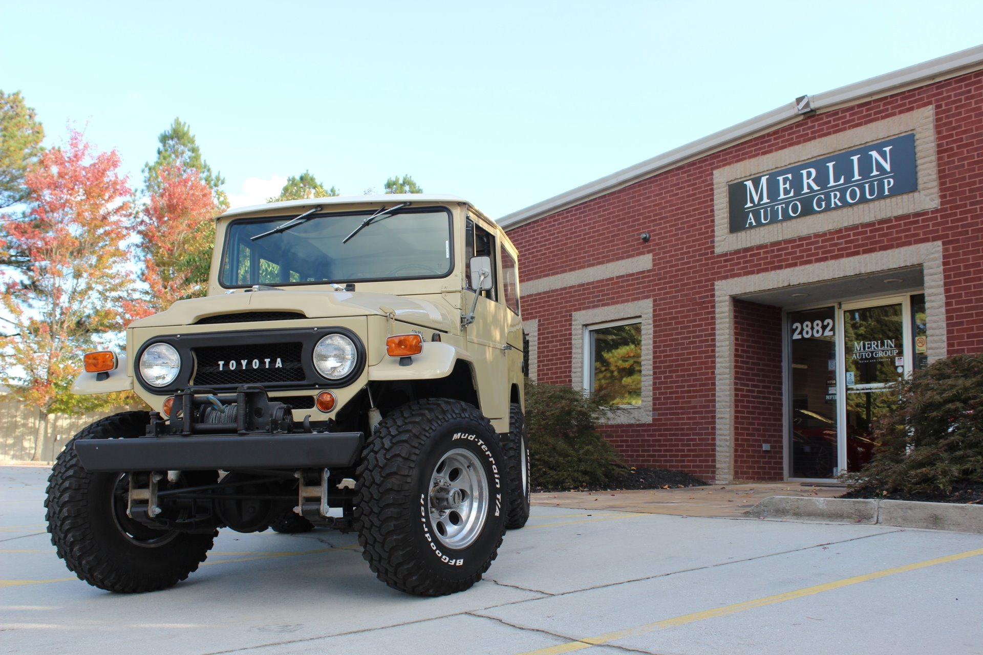 Used 1969 Toyota Fj40 Stock P3154 Ultra Luxury Car From Merlin 1973 Land Cruiser Original Auto Group