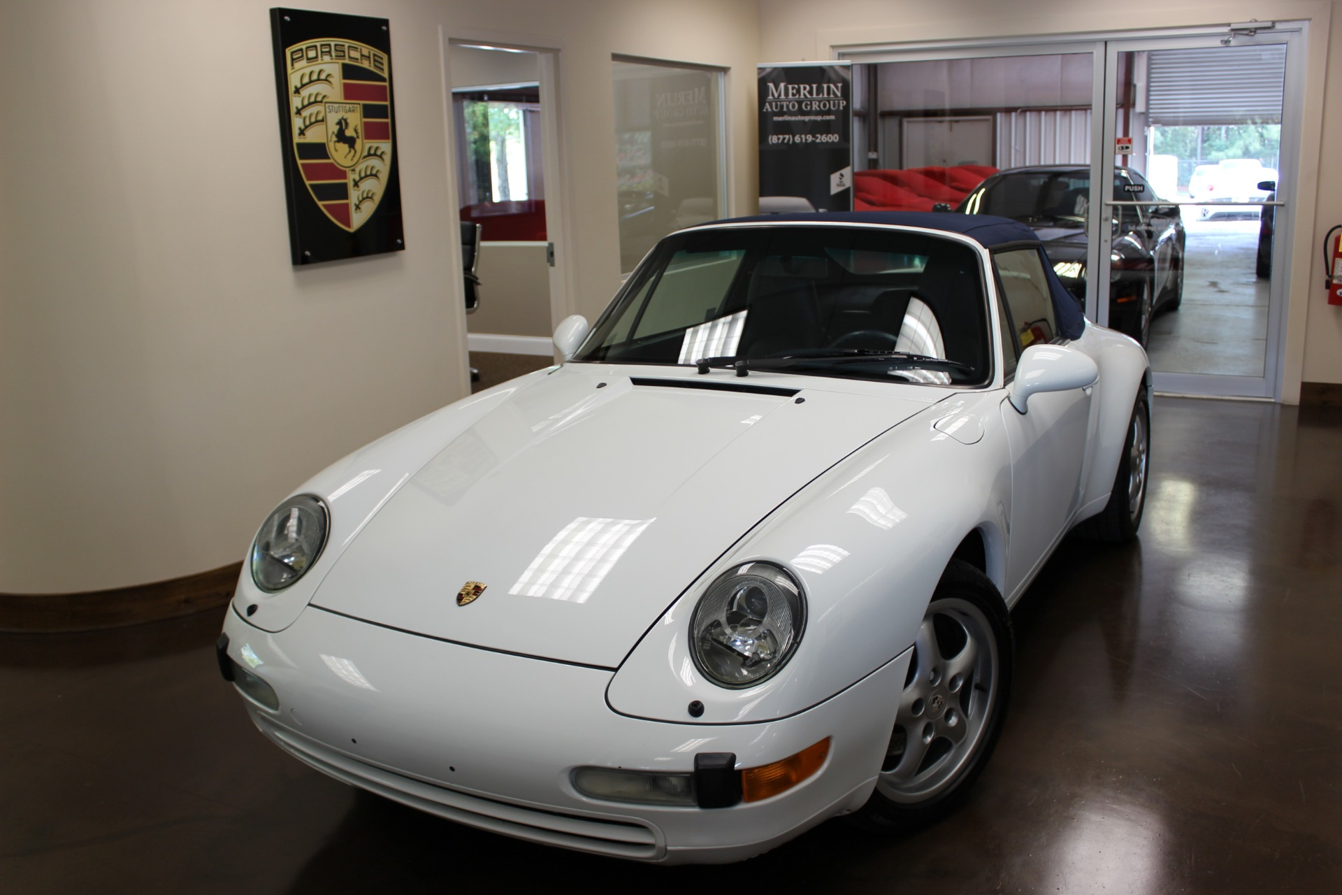 used 1995 porsche 911 grand prix white convertible h6 manual used porsche 911 for sale in. Black Bedroom Furniture Sets. Home Design Ideas