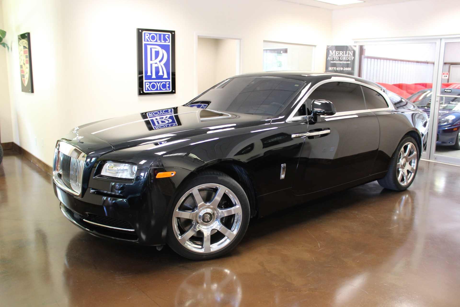 used 2015 rolls royce wraith stock p3178 ultra luxury car from merlin auto group. Black Bedroom Furniture Sets. Home Design Ideas