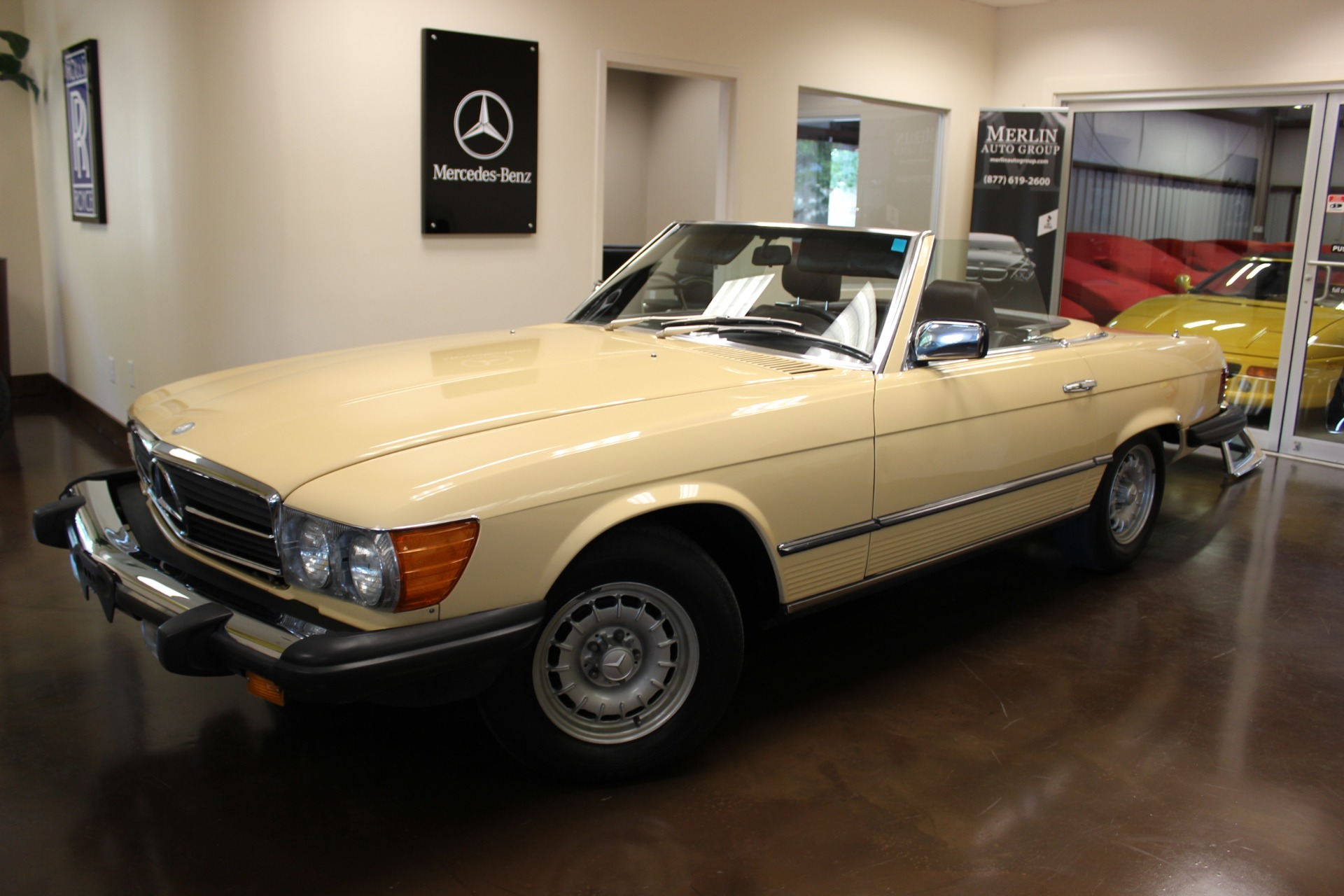 Used 1983 mercedes benz 380 stock p3159 ultra luxury car for Mercedes benz 1983