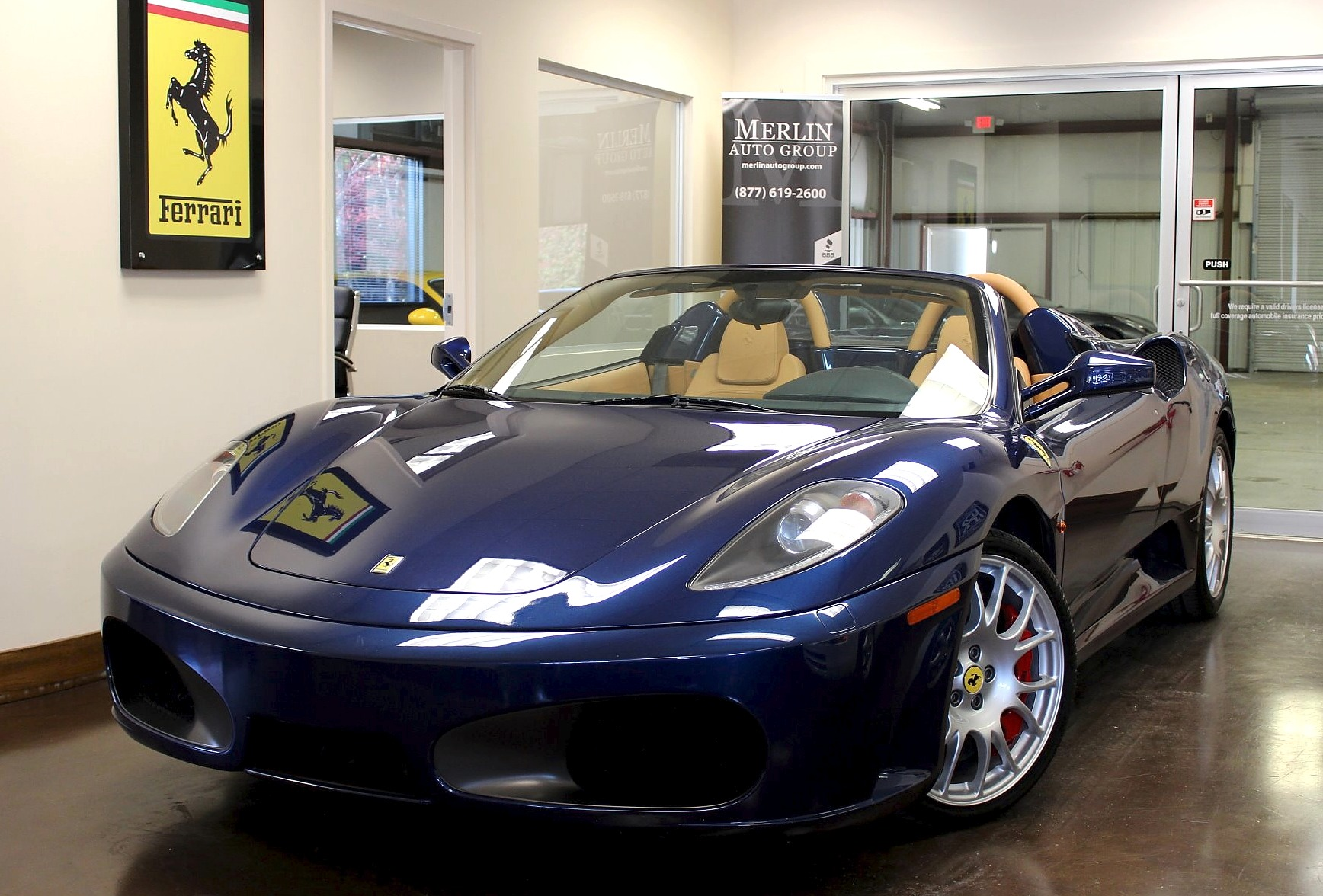 used 2009 ferrari f430 stock p3048a ultra luxury car. Black Bedroom Furniture Sets. Home Design Ideas