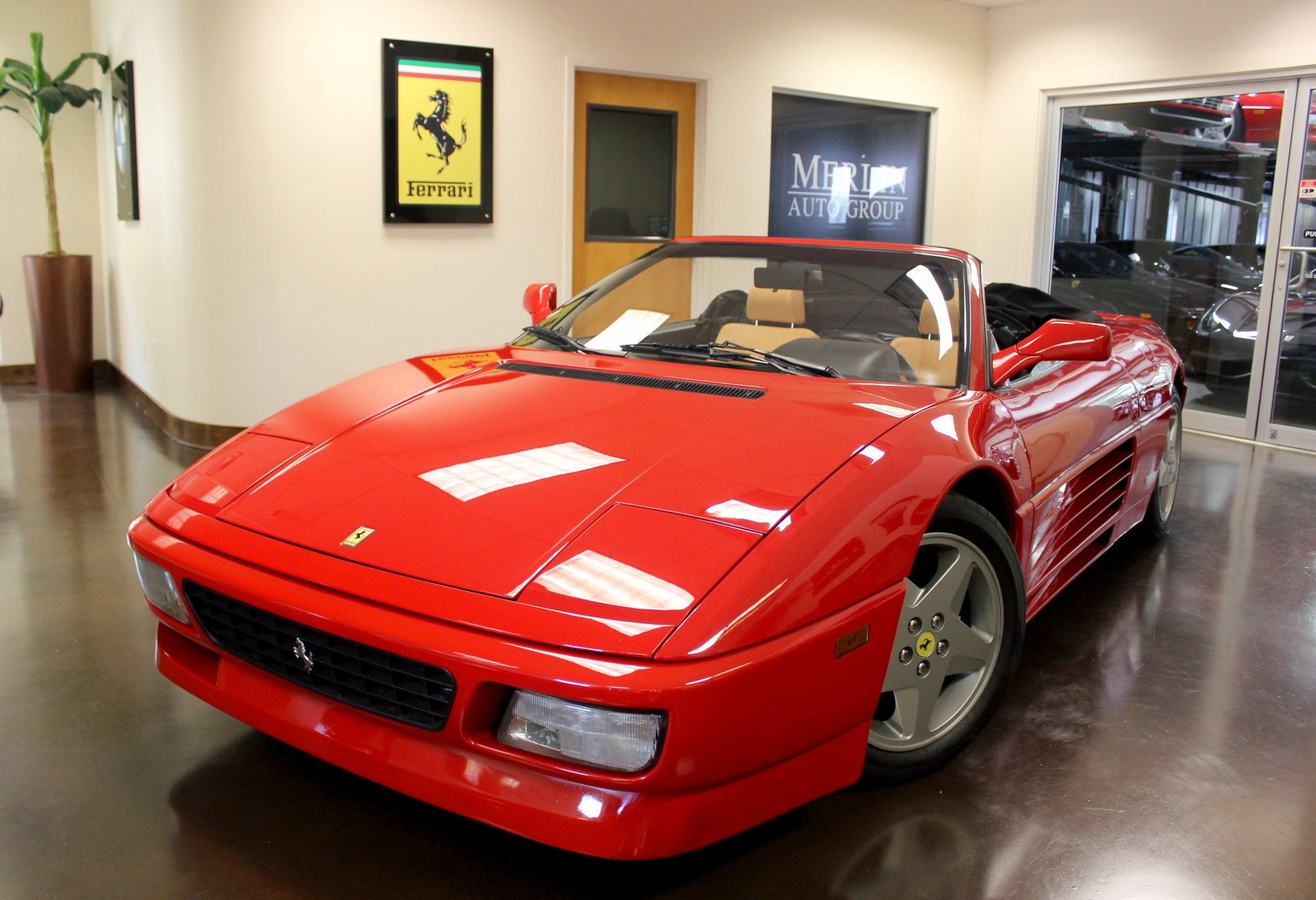 Used 1995 ferrari 348 stock p3047a ultra luxury car from