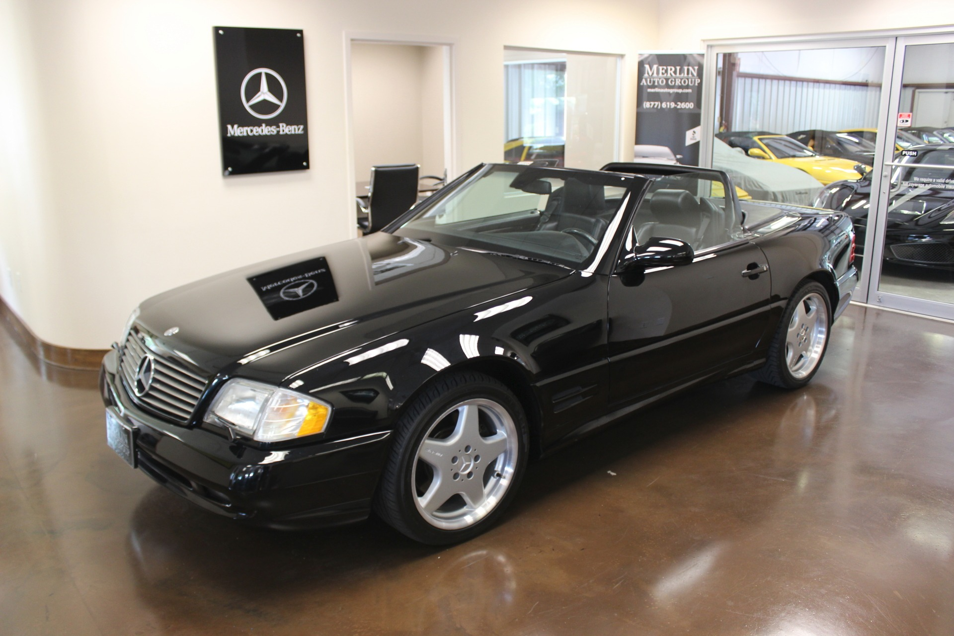 Used 2001 mercedes benz sl class stock p3132 ultra for Mercedes benz sl class sl500