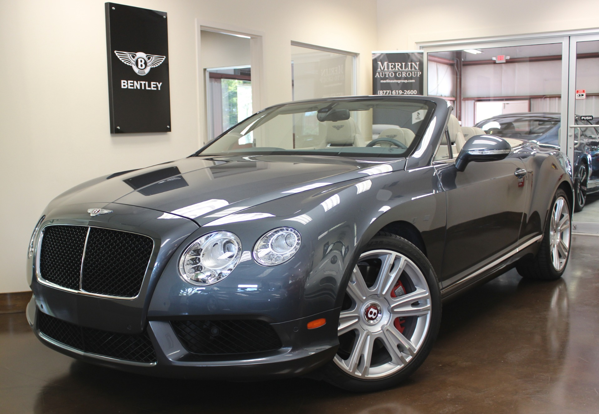 Used 2013 Bentley Continental GTC V8 stock P3205 - Ultra Luxury Car