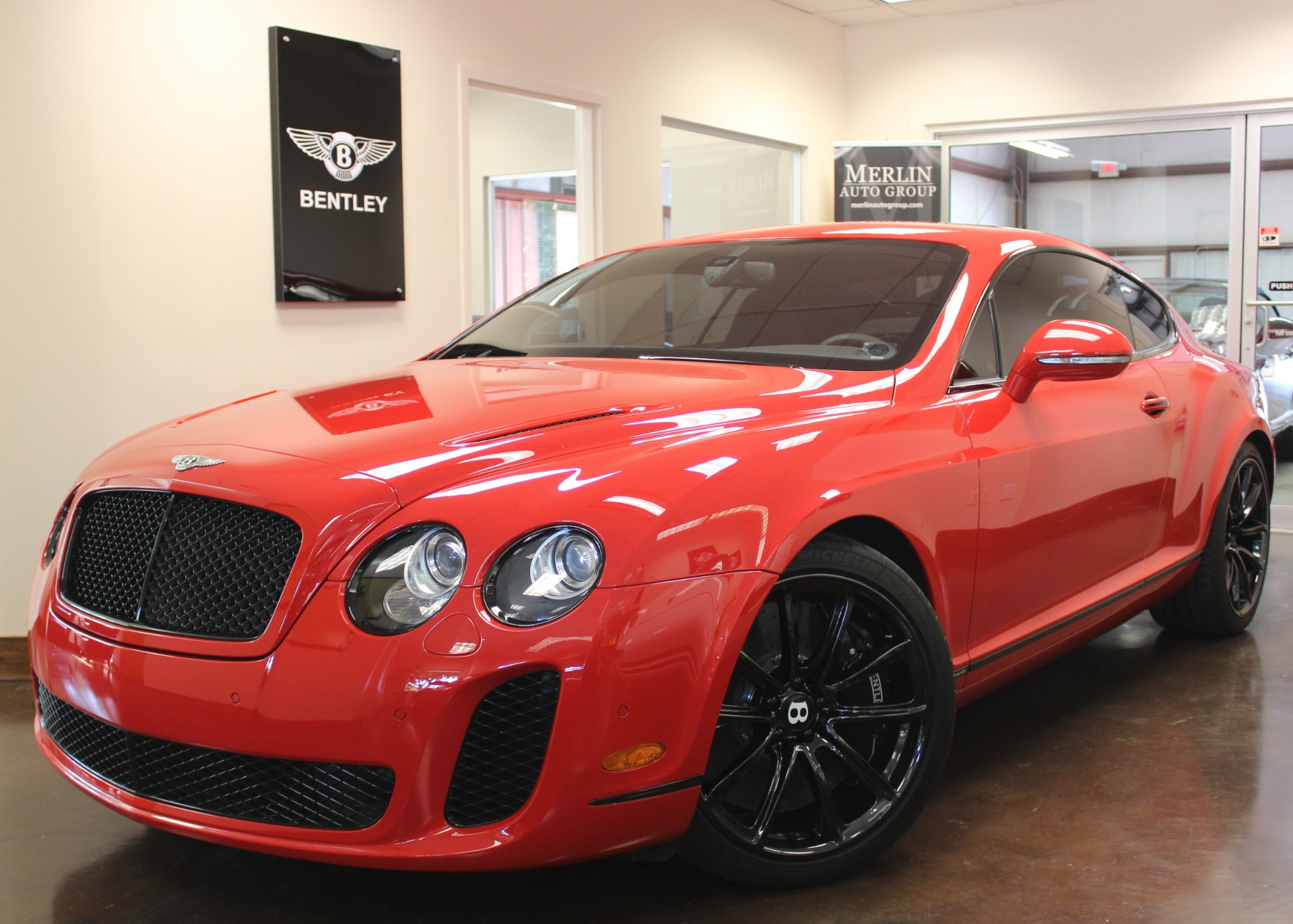 2010 Bentley Continental Supersports 9 558 Miles St James Red
