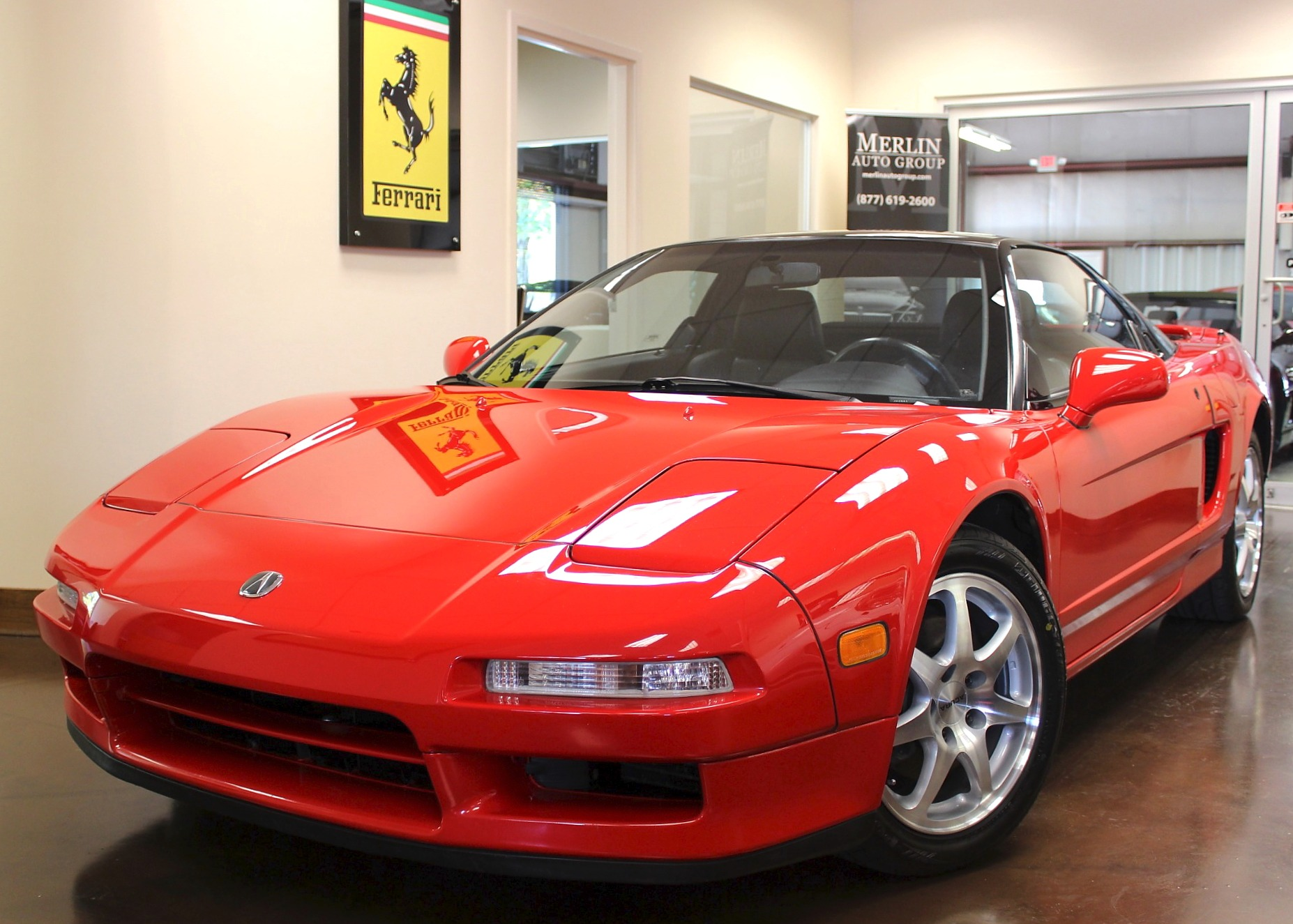 Used Acura NSX Stock P Ultra Luxury Car From Merlin Auto - 2000 acura nsx for sale