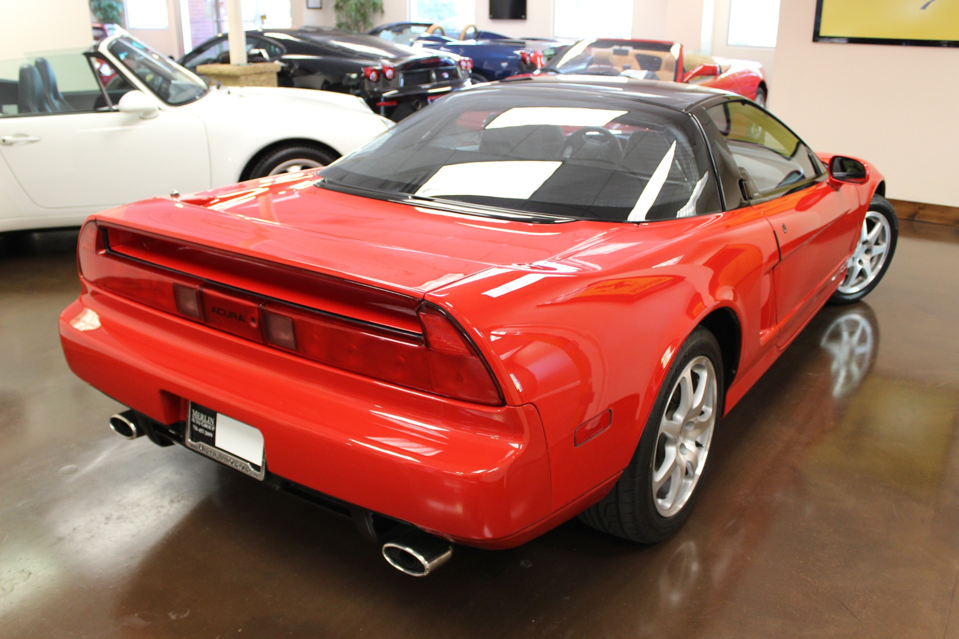 Used Acura NSX Stock P Ultra Luxury Car From Merlin Auto - 1992 acura nsx for sale