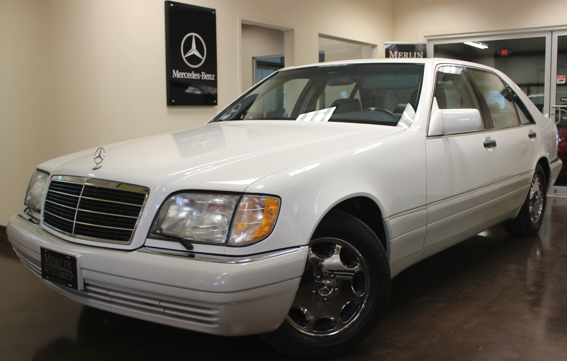 Used 1995 mercedes benz s class stock p3224 ultra luxury for Mercedes benz s420