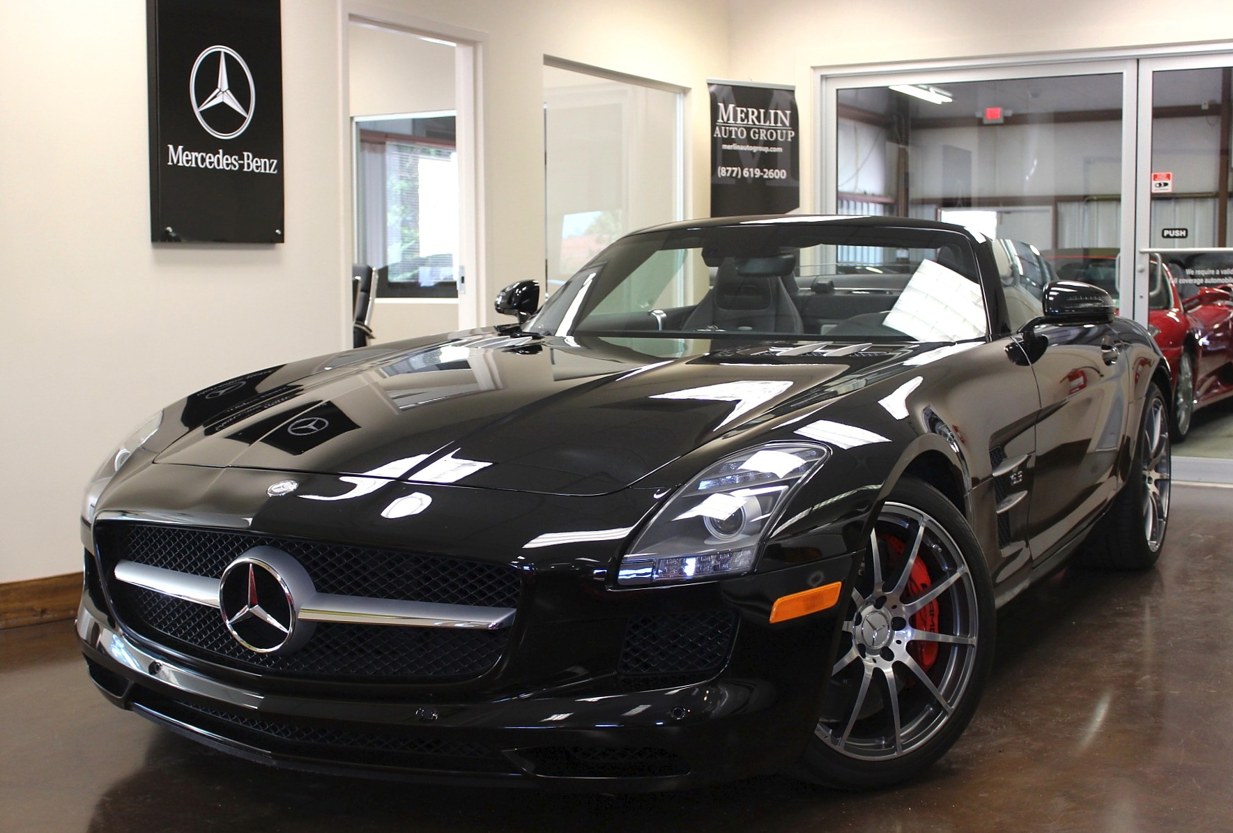 Used 2012 Mercedes Benz SLS stock P3050AA Ultra Luxury Car from