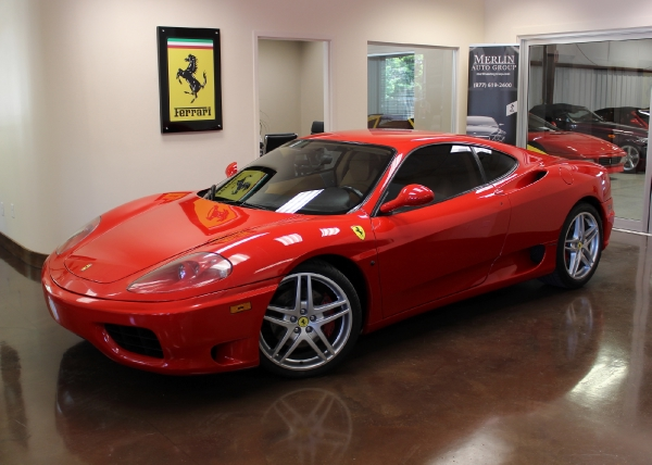 1999 Ferrari 360 Modena 6-Speed - 3 Pedal - Manual Transmission