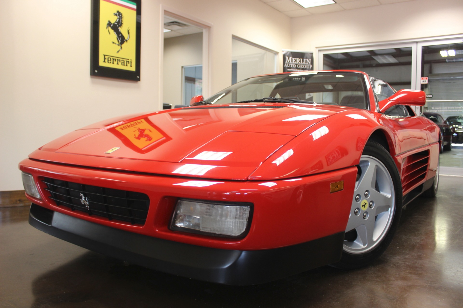 Used 1992 ferrari 348 stock p3258 ultra luxury car from merlin to better serve you merlin auto group works by appointment please call 770 457 2699 to schedule yours today vanachro Images