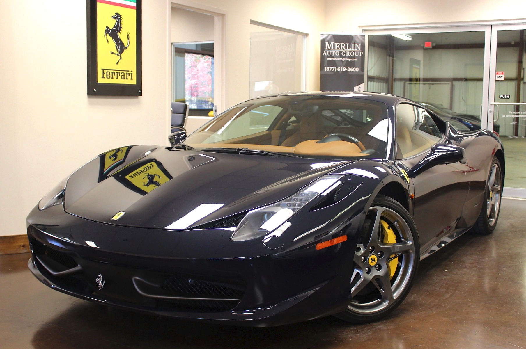 Used 2013 ferrari 458 stock p3305 ultra luxury car from merlin 2013 ferrari 458 italia vanachro Choice Image