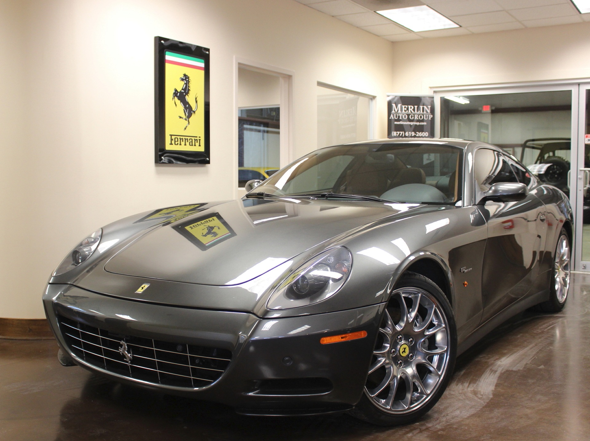 Used 2008 Ferrari 612 stock P3134A - Ultra Luxury Car from ...
