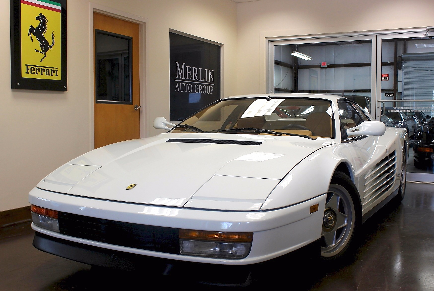 used 1987 ferrari testarossa stock p3477 ultra luxury. Black Bedroom Furniture Sets. Home Design Ideas