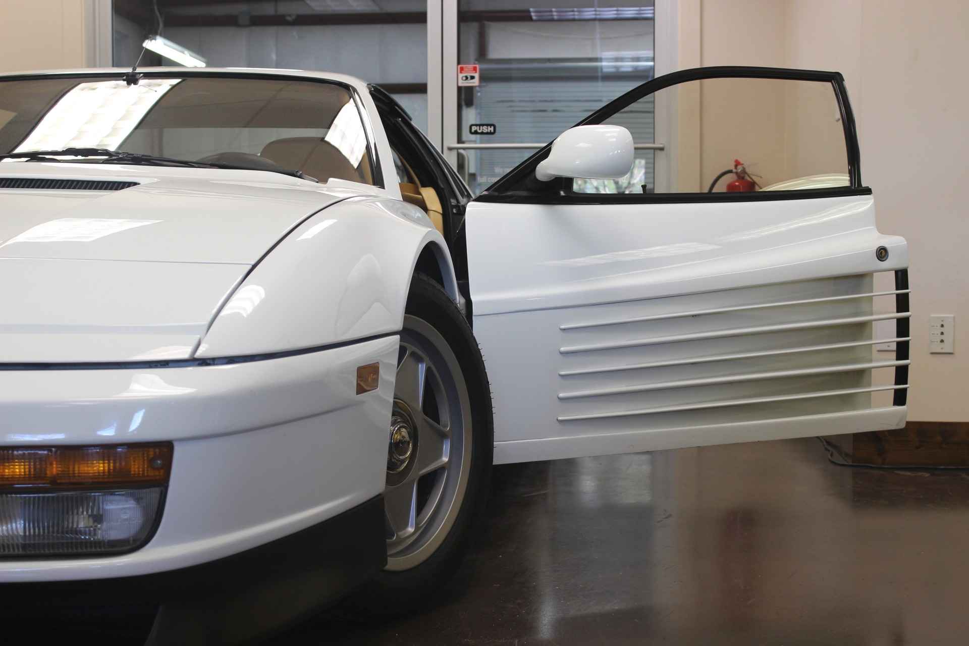 used 1987 ferrari testarossa stock p3477 ultra luxury car from