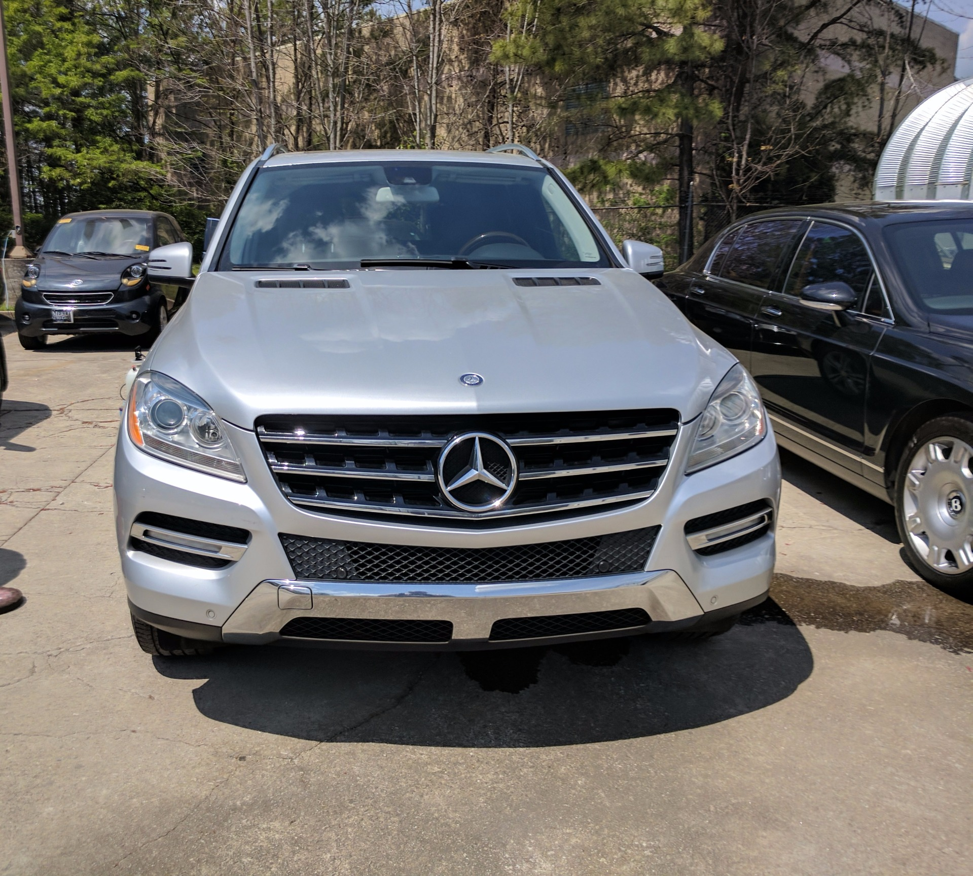Used 2012 mercedes benz m class stock p3223a ultra for Mercedes benz ml 2012 for sale