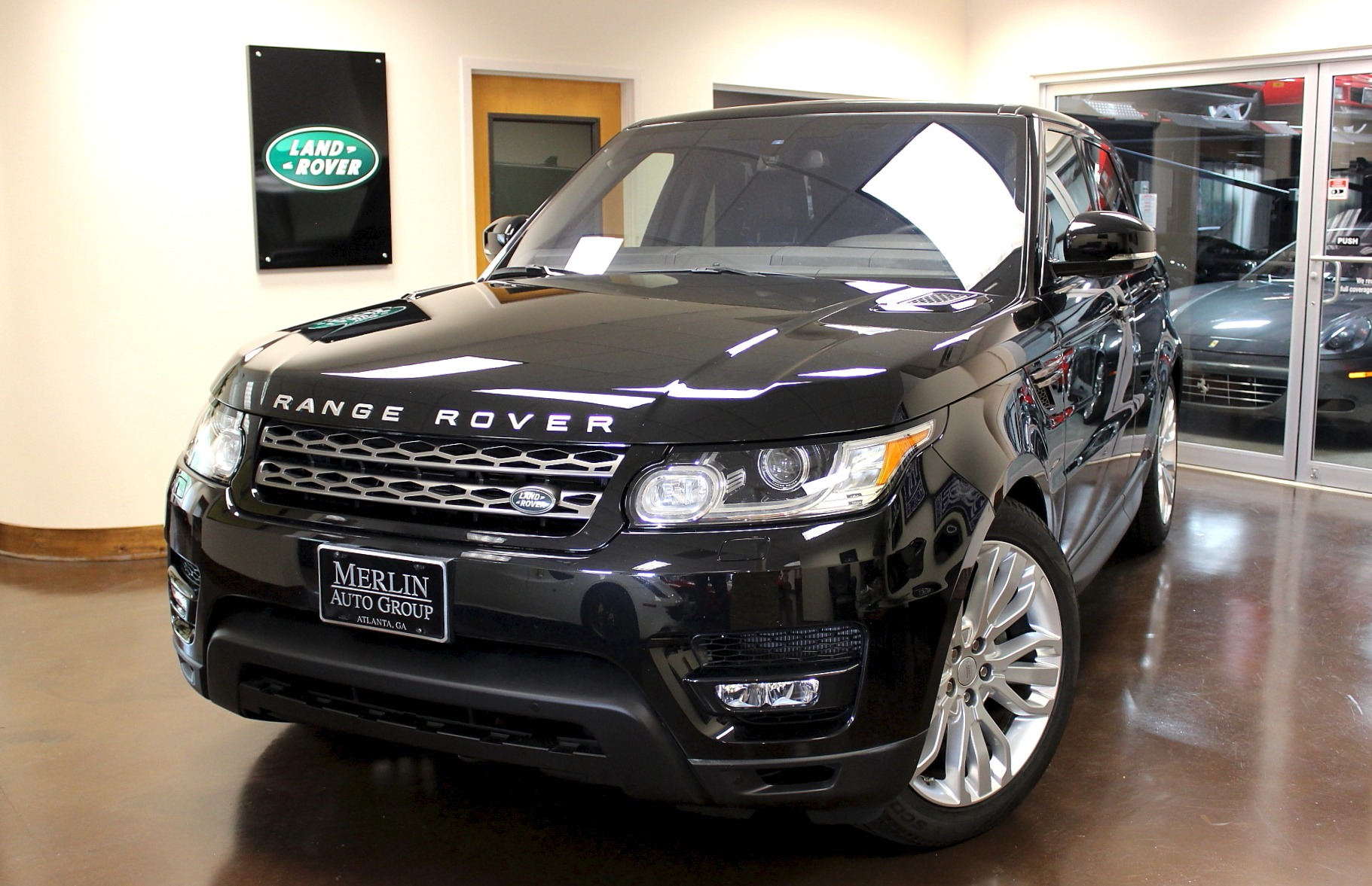 used 2016 land rover range rover sport stock p3626 ultra luxury car from merlin auto group. Black Bedroom Furniture Sets. Home Design Ideas