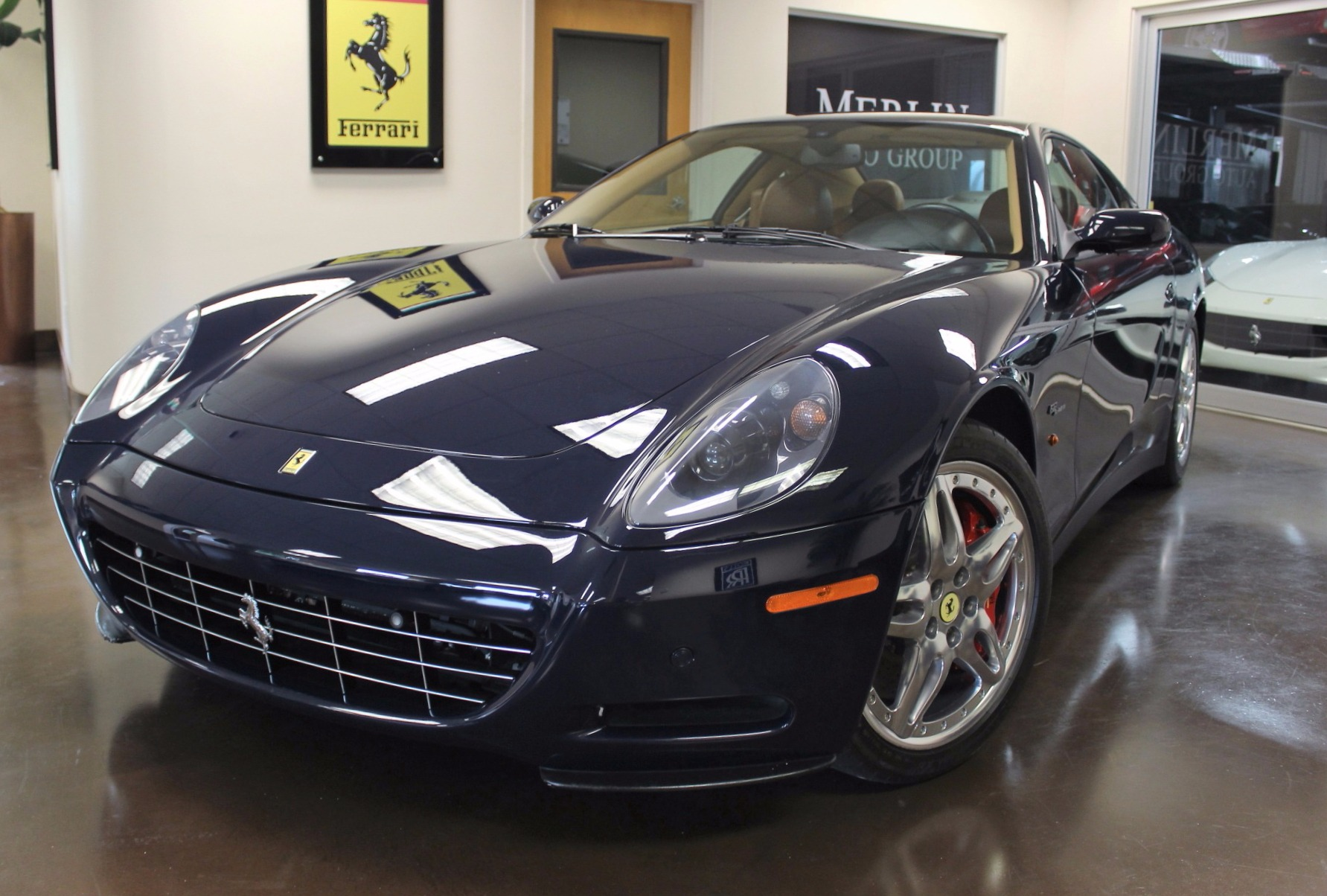 used 2008 ferrari 612 stock p3631 ultra luxury car from merlin auto group. Black Bedroom Furniture Sets. Home Design Ideas