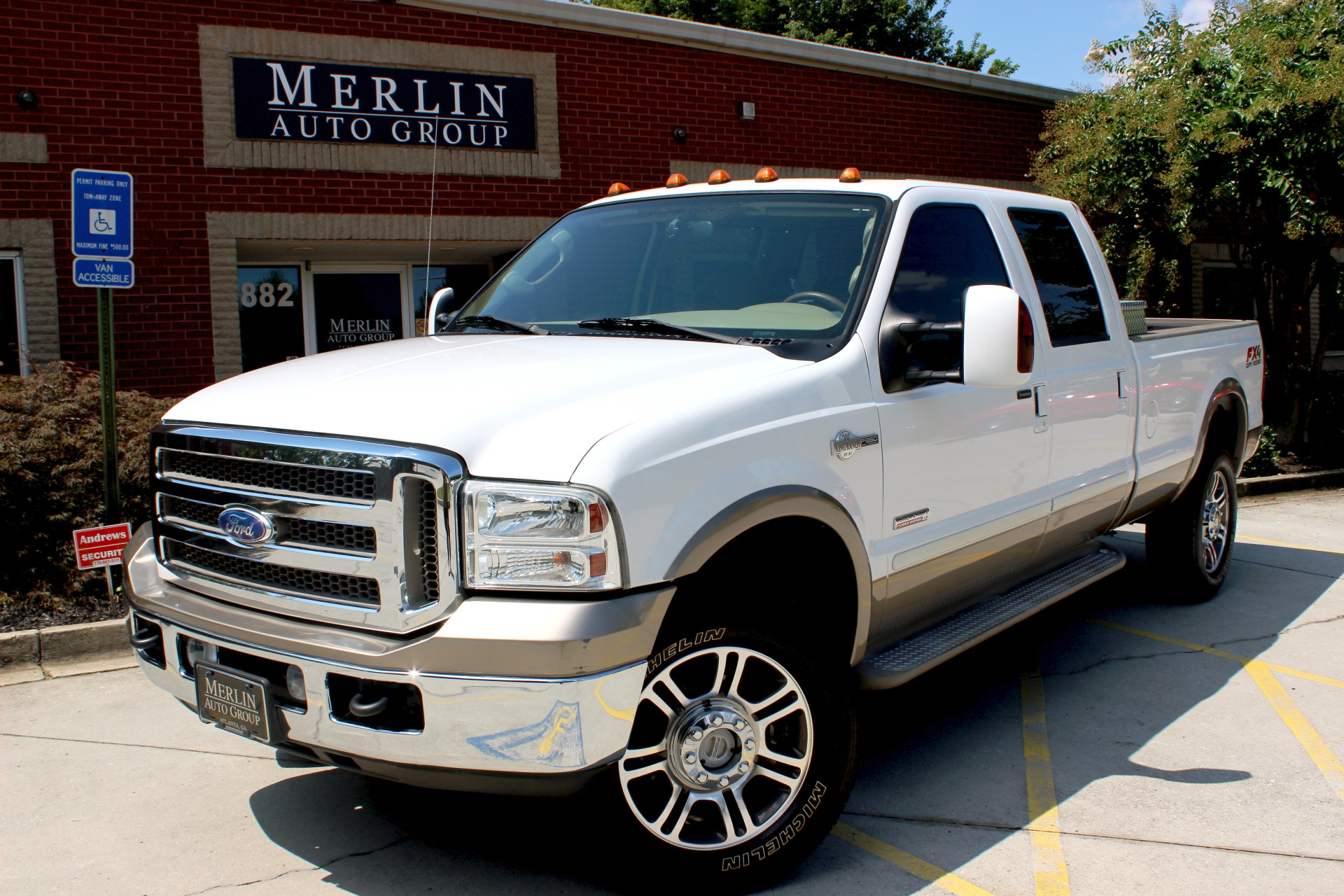 Used 2005 Ford F-350 SD stock P3220 - Ultra Luxury Car from Merlin Auto Group