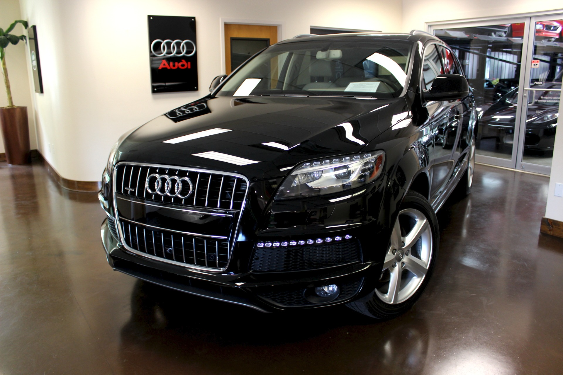 used 2015 audi q7 stock p3659 ultra luxury car from. Black Bedroom Furniture Sets. Home Design Ideas