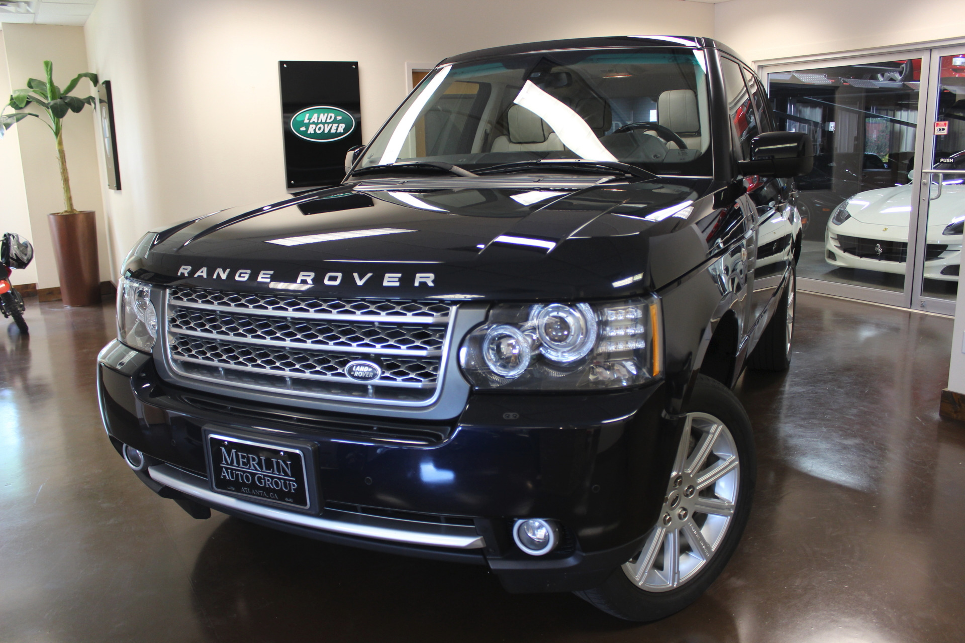used 2011 land rover range rover stock p3666 ultra luxury car from merlin auto group. Black Bedroom Furniture Sets. Home Design Ideas