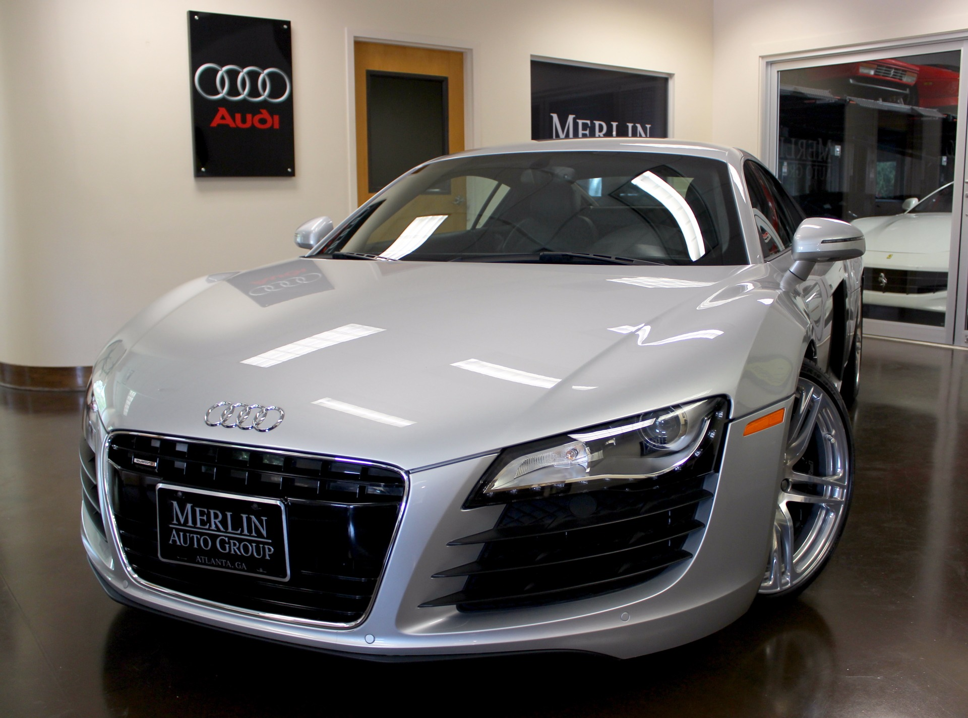 used 2009 audi r8 stock p3959d ultra luxury car from merlin auto group. Black Bedroom Furniture Sets. Home Design Ideas