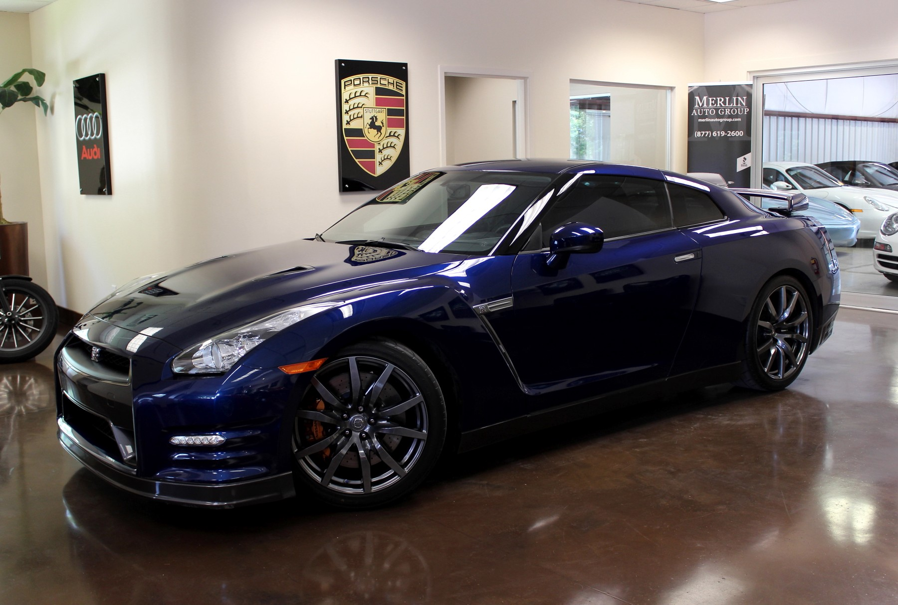 used 2014 nissan gt r stock p2826 ultra luxury car from merlin auto group. Black Bedroom Furniture Sets. Home Design Ideas
