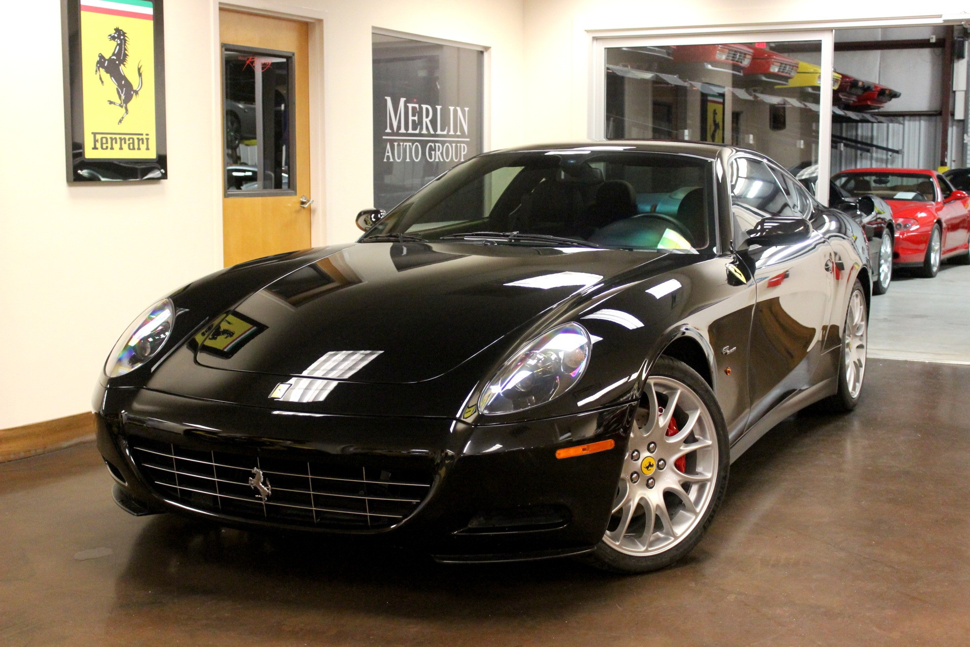 used 2006 ferrari 612 stock p3776 ultra luxury car from merlin auto group. Black Bedroom Furniture Sets. Home Design Ideas