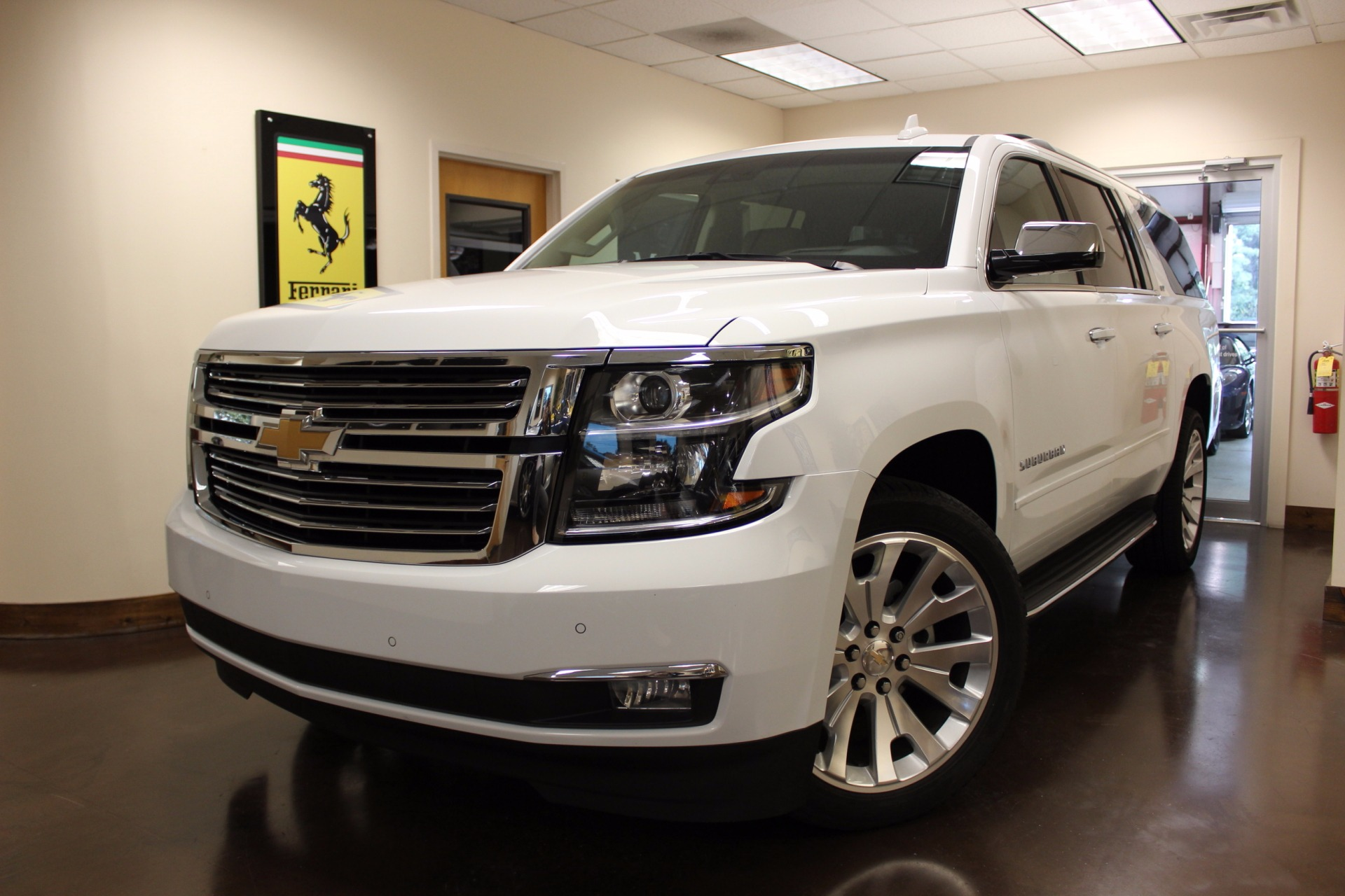 used 2016 chevrolet suburban stock p3818 ultra luxury. Black Bedroom Furniture Sets. Home Design Ideas