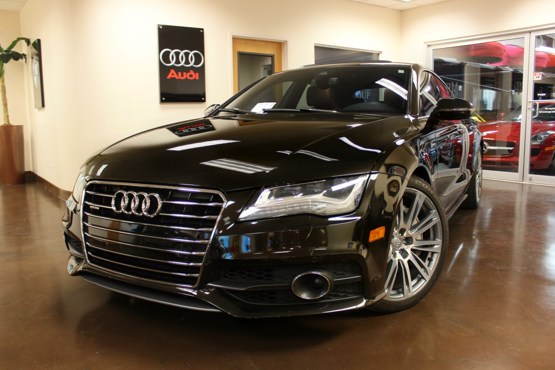 used 2013 audi a7 stock p3758a ultra luxury car from merlin auto group. Black Bedroom Furniture Sets. Home Design Ideas