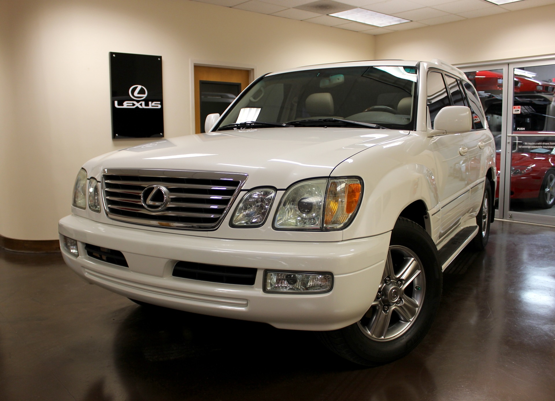 used 2007 lexus lx 470 stock p3788a ultra luxury car from merlin auto group. Black Bedroom Furniture Sets. Home Design Ideas