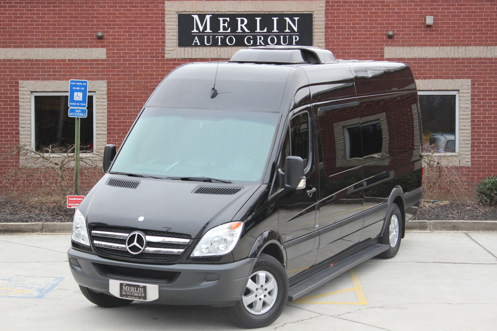 wheelchair vans big lift sprinter benz mercedes vanmercedes passenger for van sale