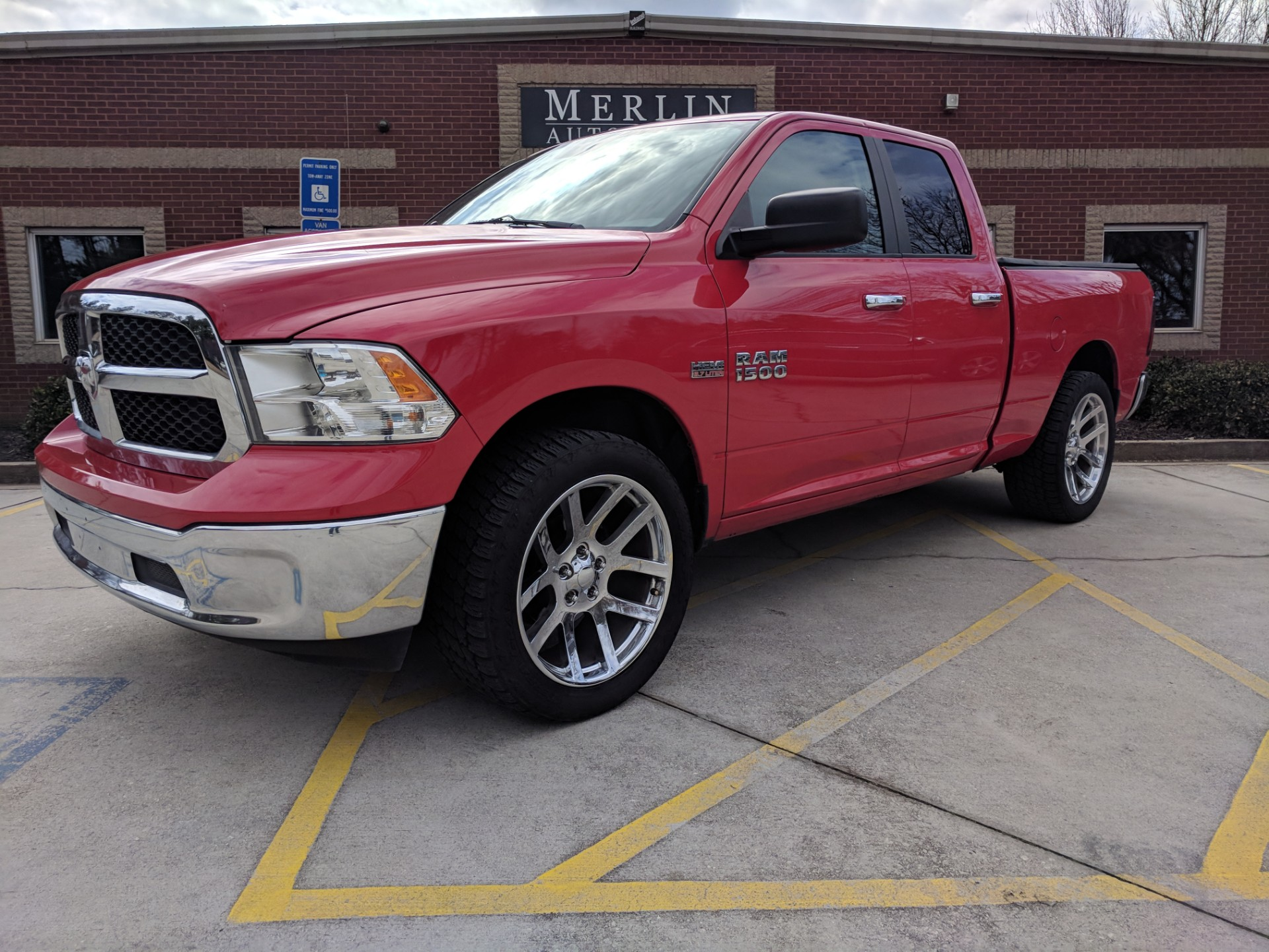 used 2014 ram 1500 stock p4058 ultra luxury car from merlin auto group. Black Bedroom Furniture Sets. Home Design Ideas