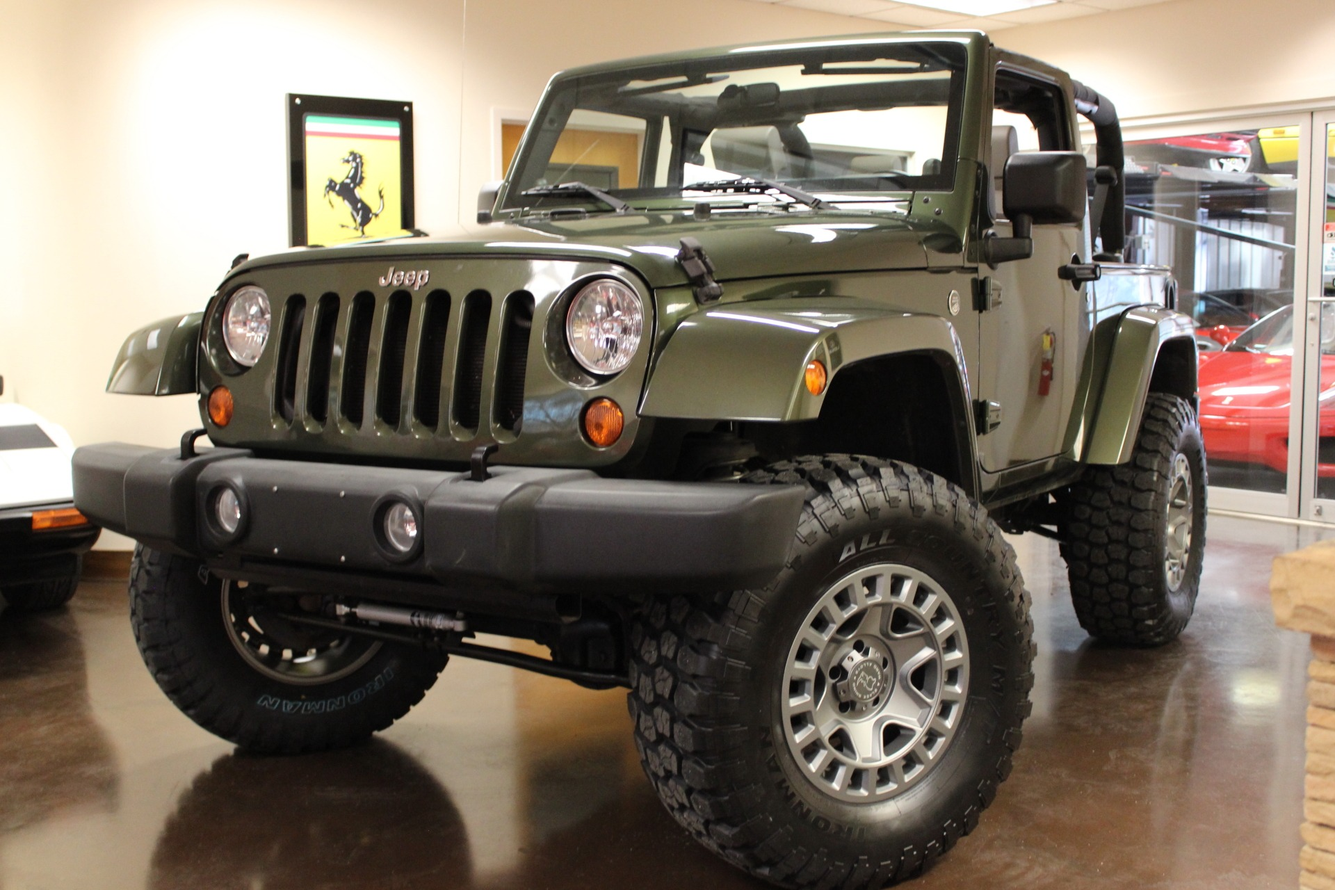 Used 2007 Jeep Wrangler stock P4049A Ultra Luxury Car from Merlin