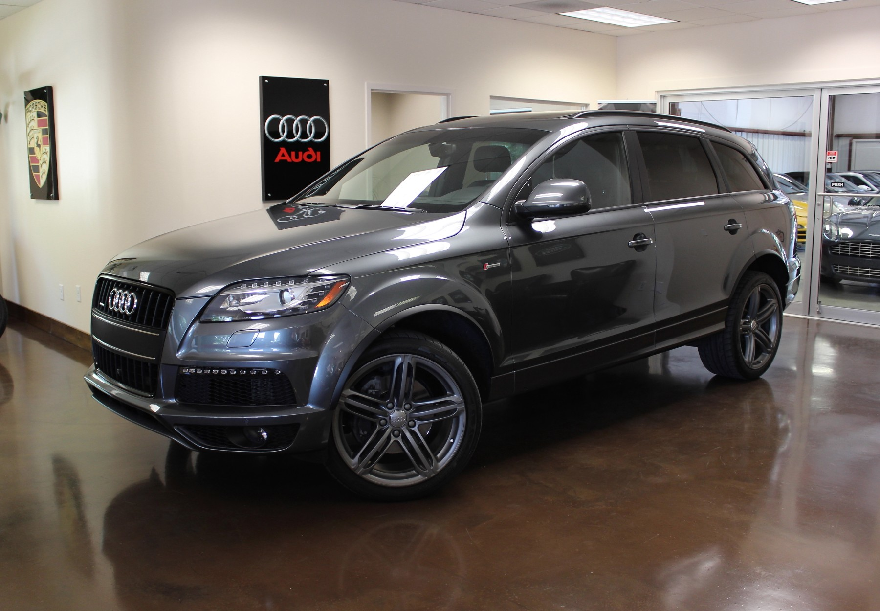 used 2013 audi q7 stock p2848 ultra luxury car from merlin auto group. Black Bedroom Furniture Sets. Home Design Ideas
