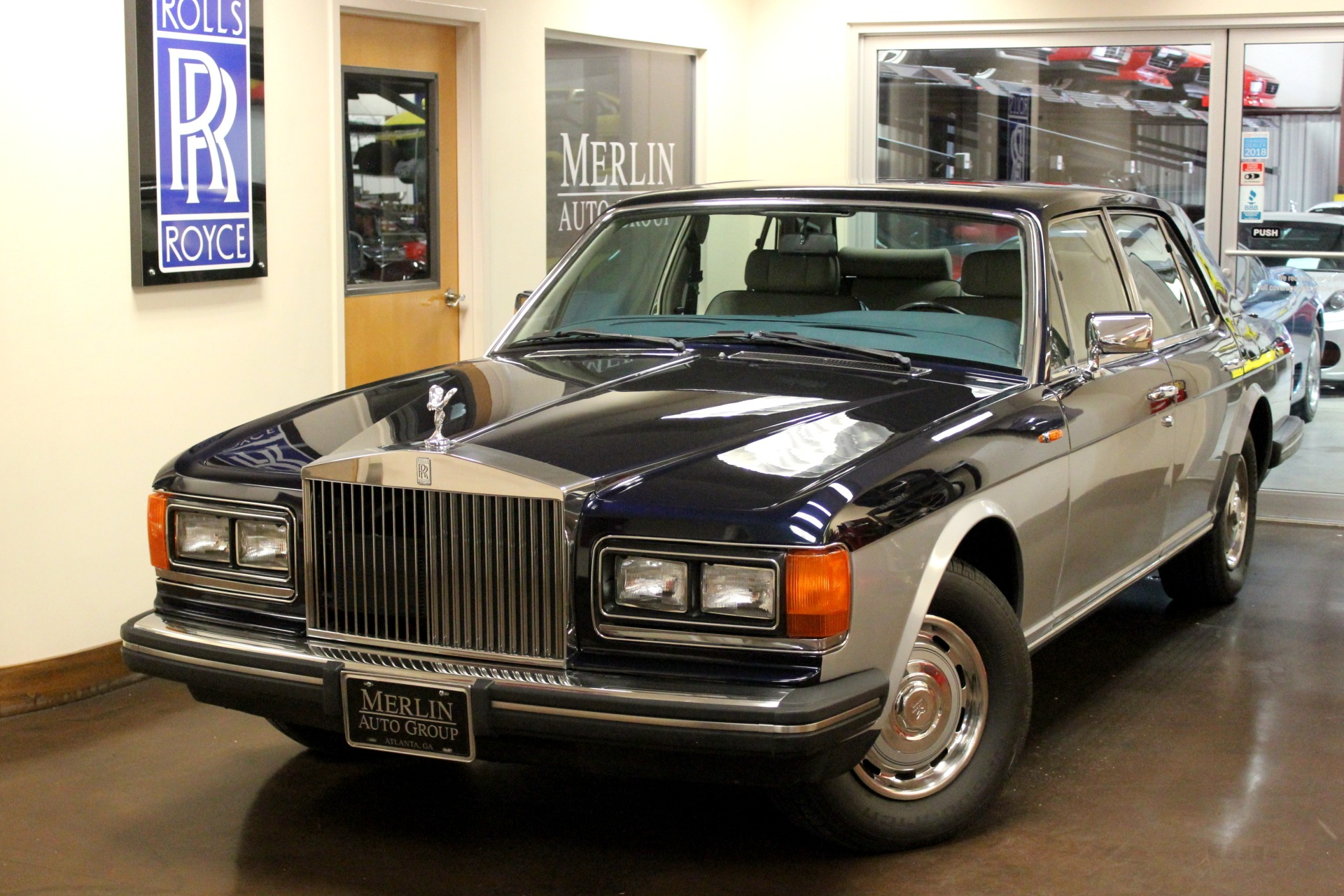 1987 Rolls-Royce Silver Spirit Base