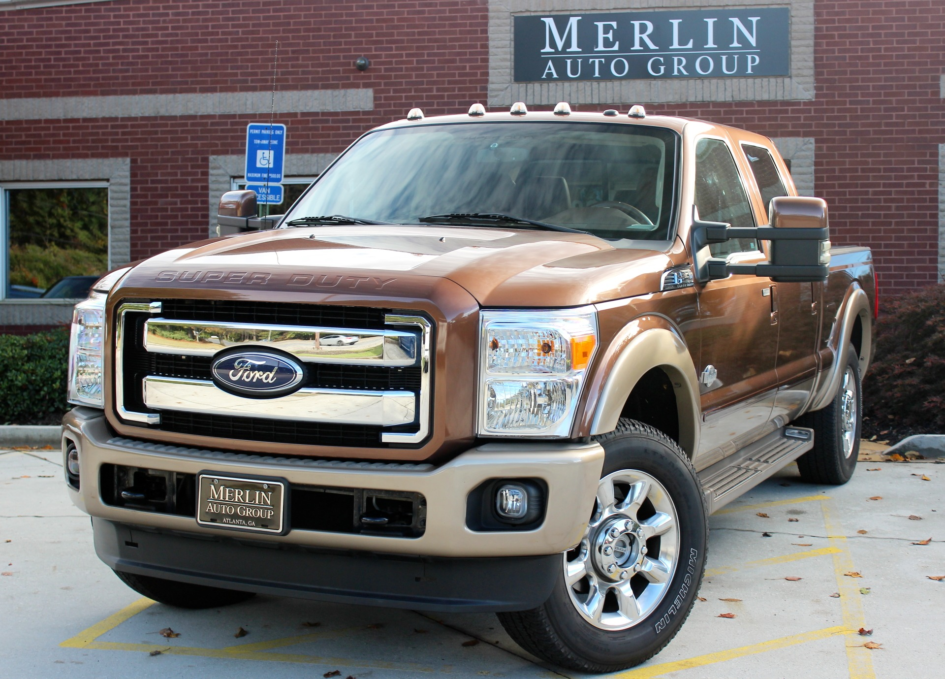 2011 Ford F-250 SD King Ranch Crew cab 4WD 6.7L Turbo Diesel