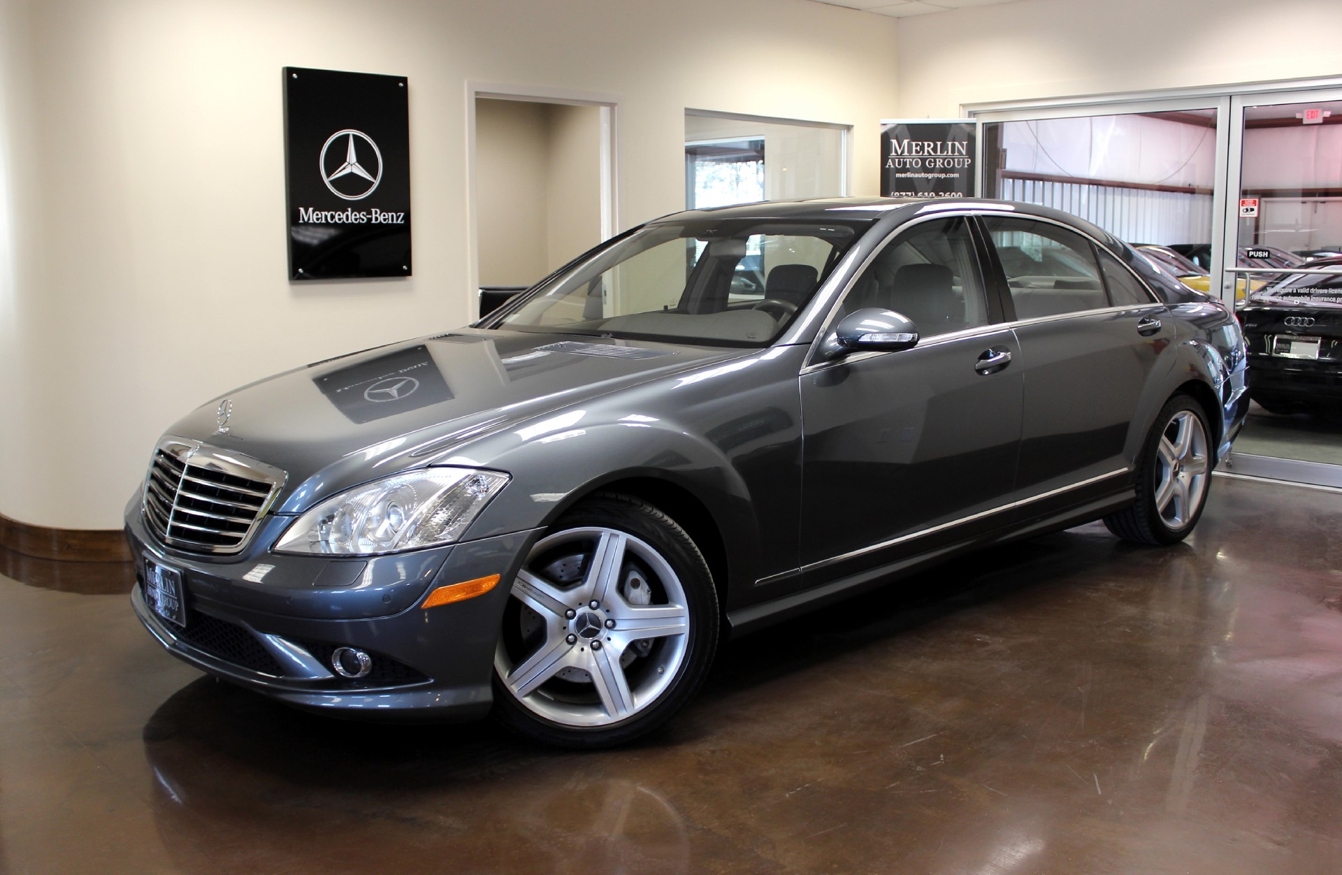used 2007 mercedes-benz s-class stock p2543